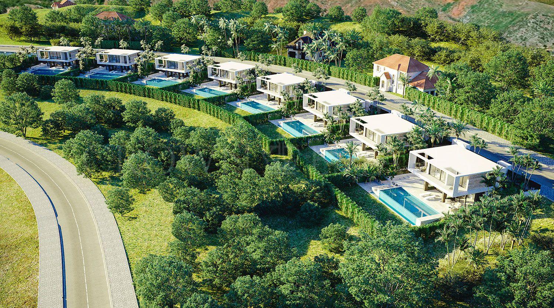 8 exclusive villas in Valle Romano Estepona