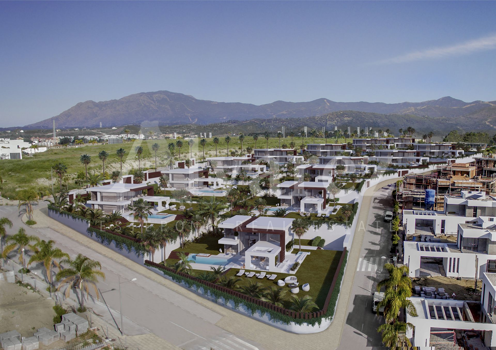 Development in Cancelada, Estepona