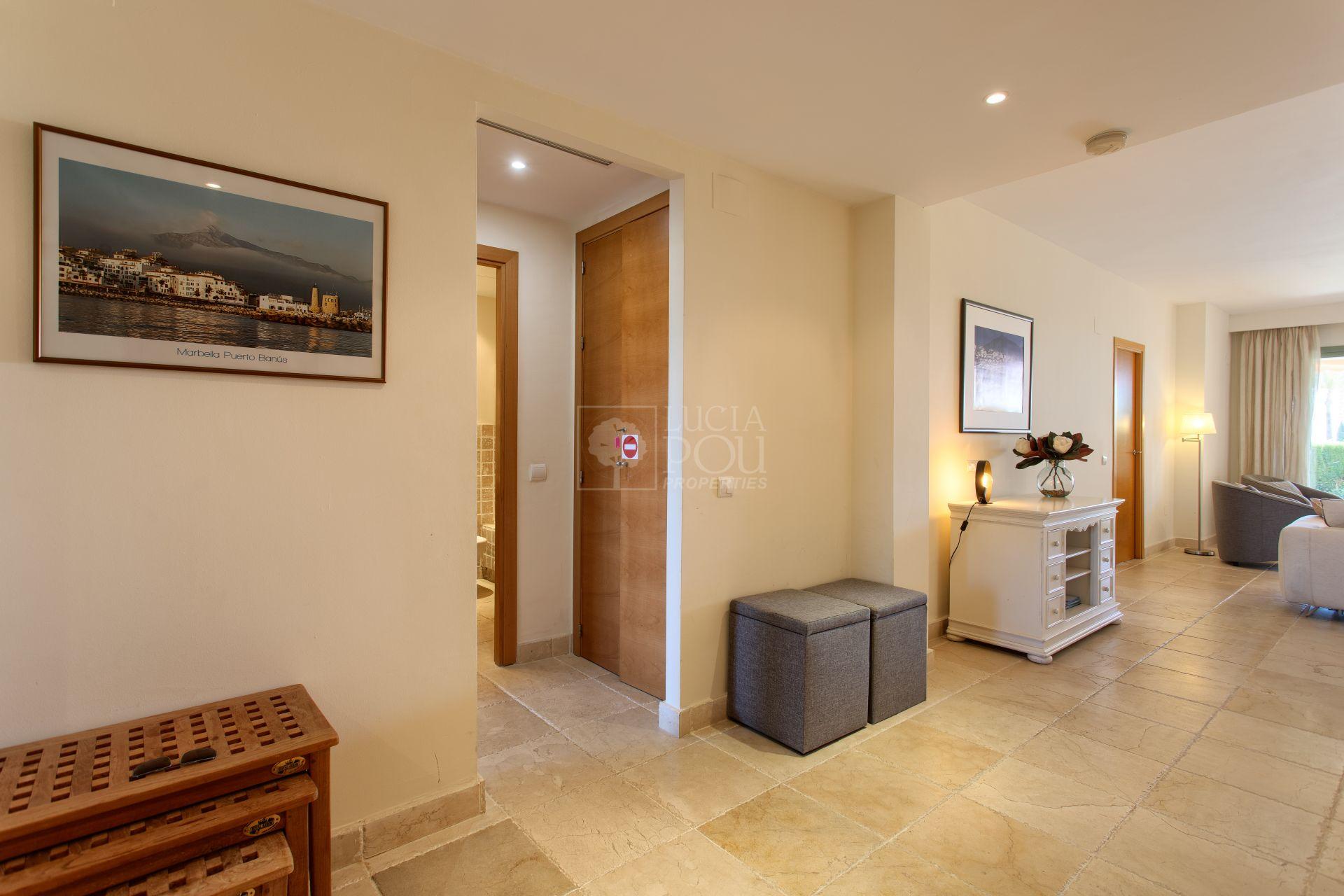 Ground Floor Apartment  in New Golden Mile, Estepona