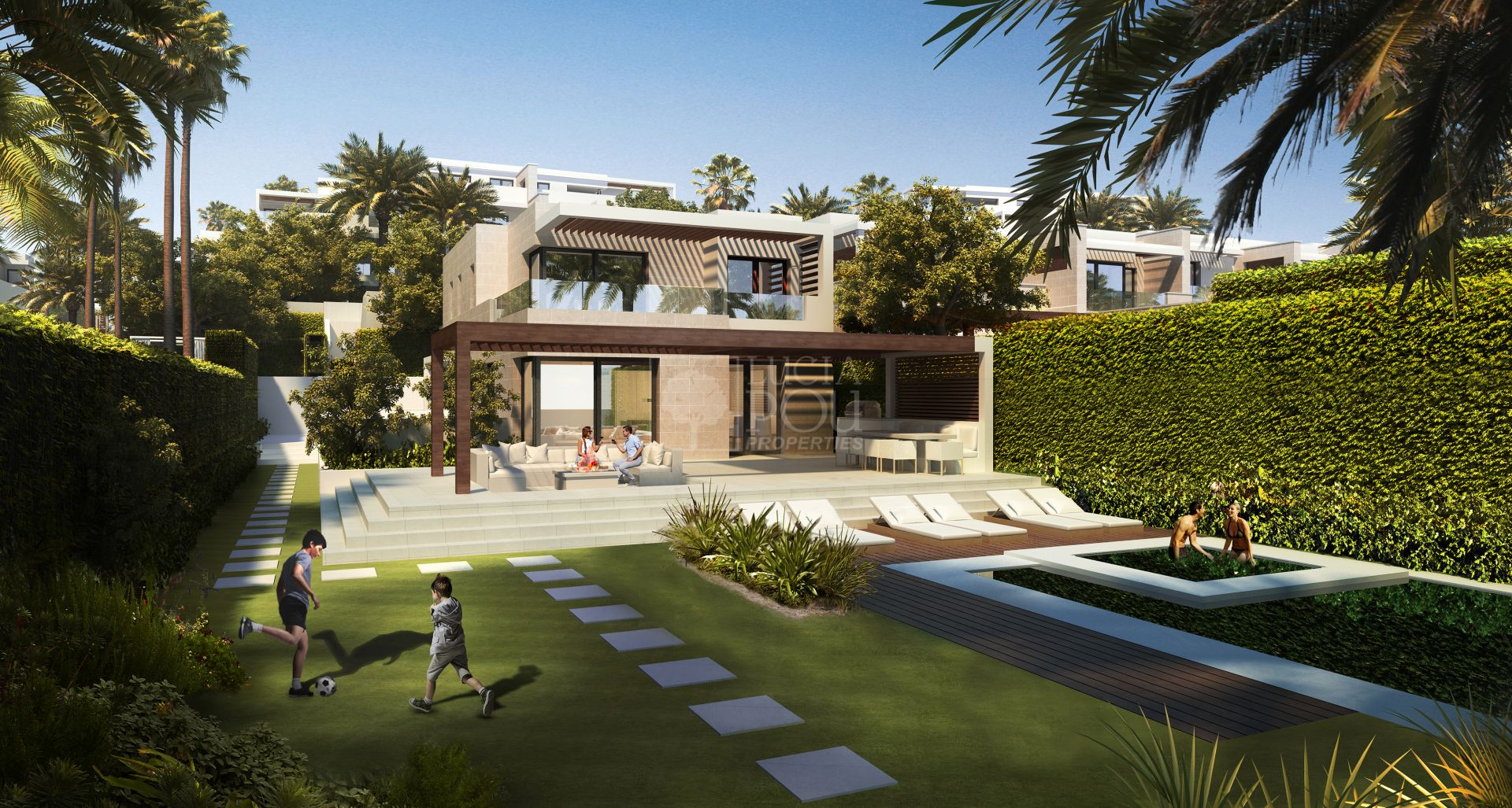 Semi Detached House  in New Golden Mile, Estepona