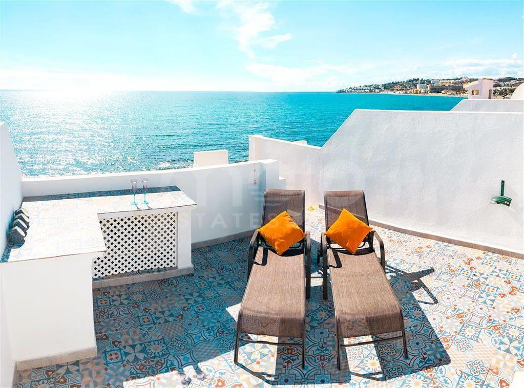Penthouse en front de mer à vendre à Cala de Mijas, Mijas Costa