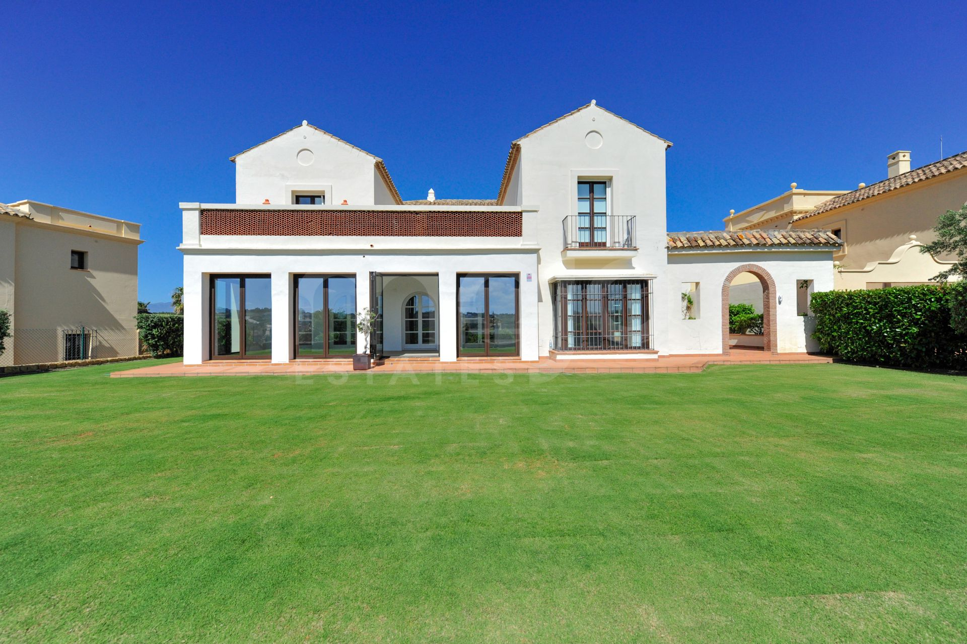 Exclusive and next to the Valderrama golf course