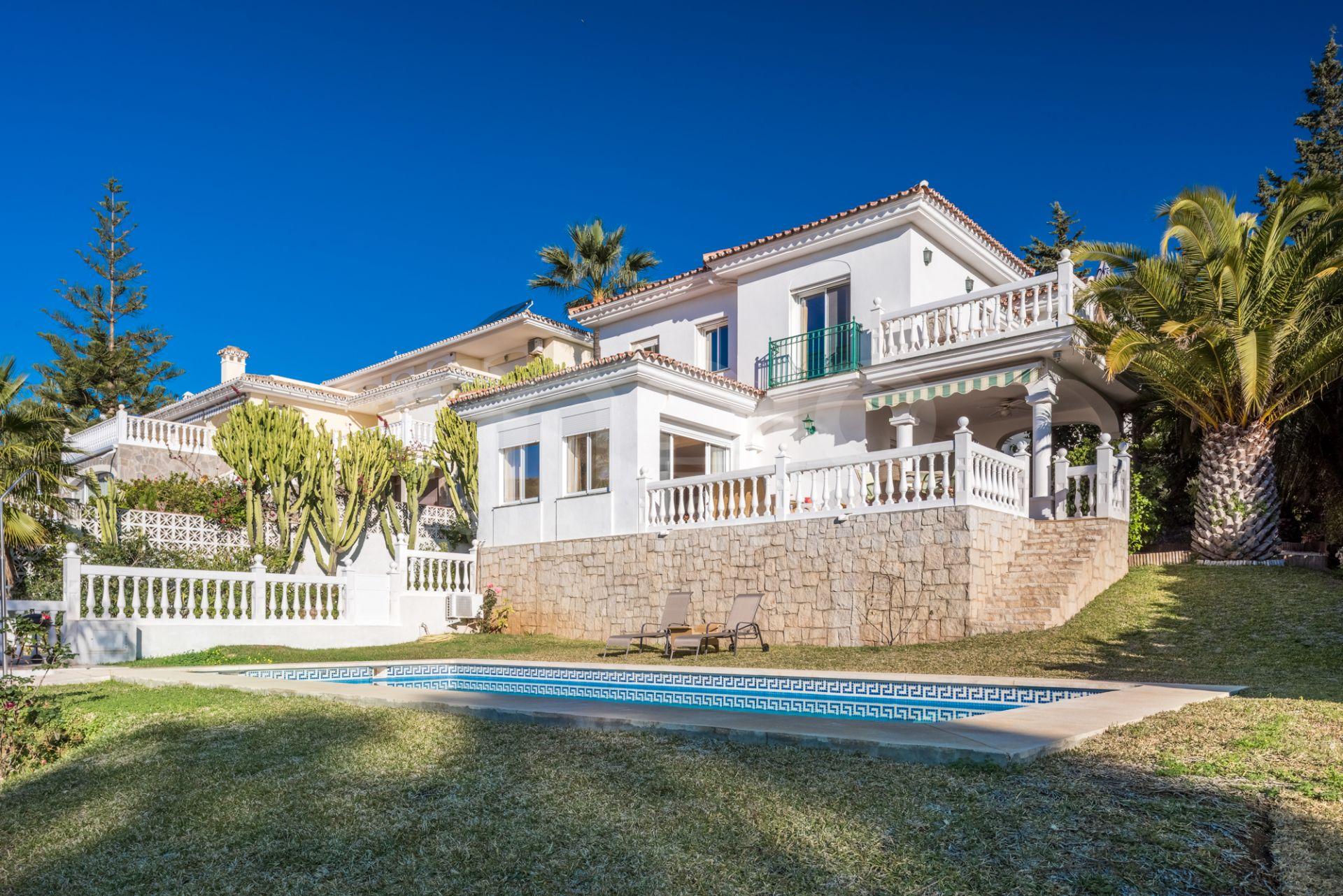 Fantastisk villa i Sierrezuela Mijas.