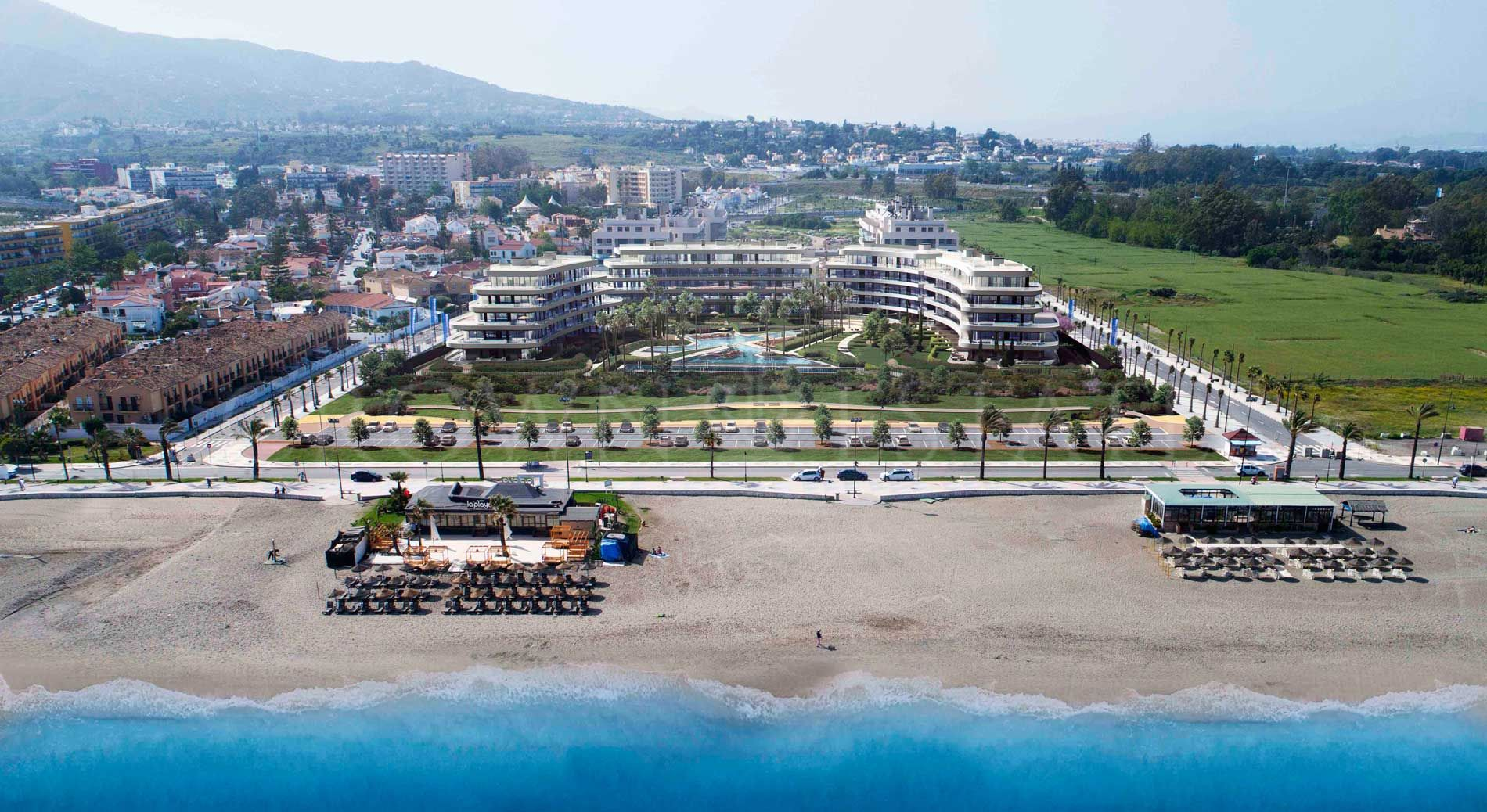 104 apartments of 1,2,3 and 4 bedrooms located on the beachfront. Just at 800metres from the Parador Málaga Golf and 10 minutes far from Málaga citycentre.