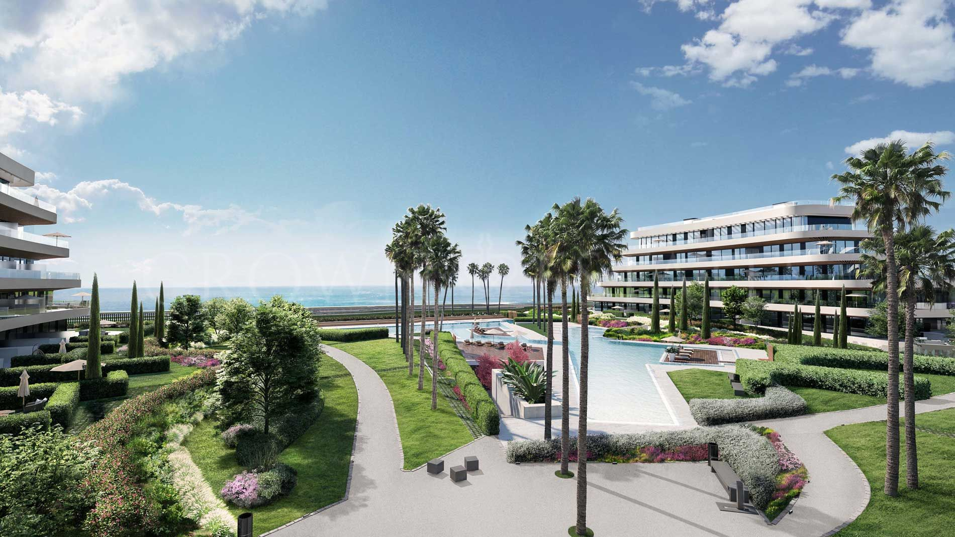 104 apartments of 1,2,3 and 4 bedrooms located on the beachfront. Just at 800 metres from the Parador Málaga Golf and 10 minutes far from Málaga city centre.