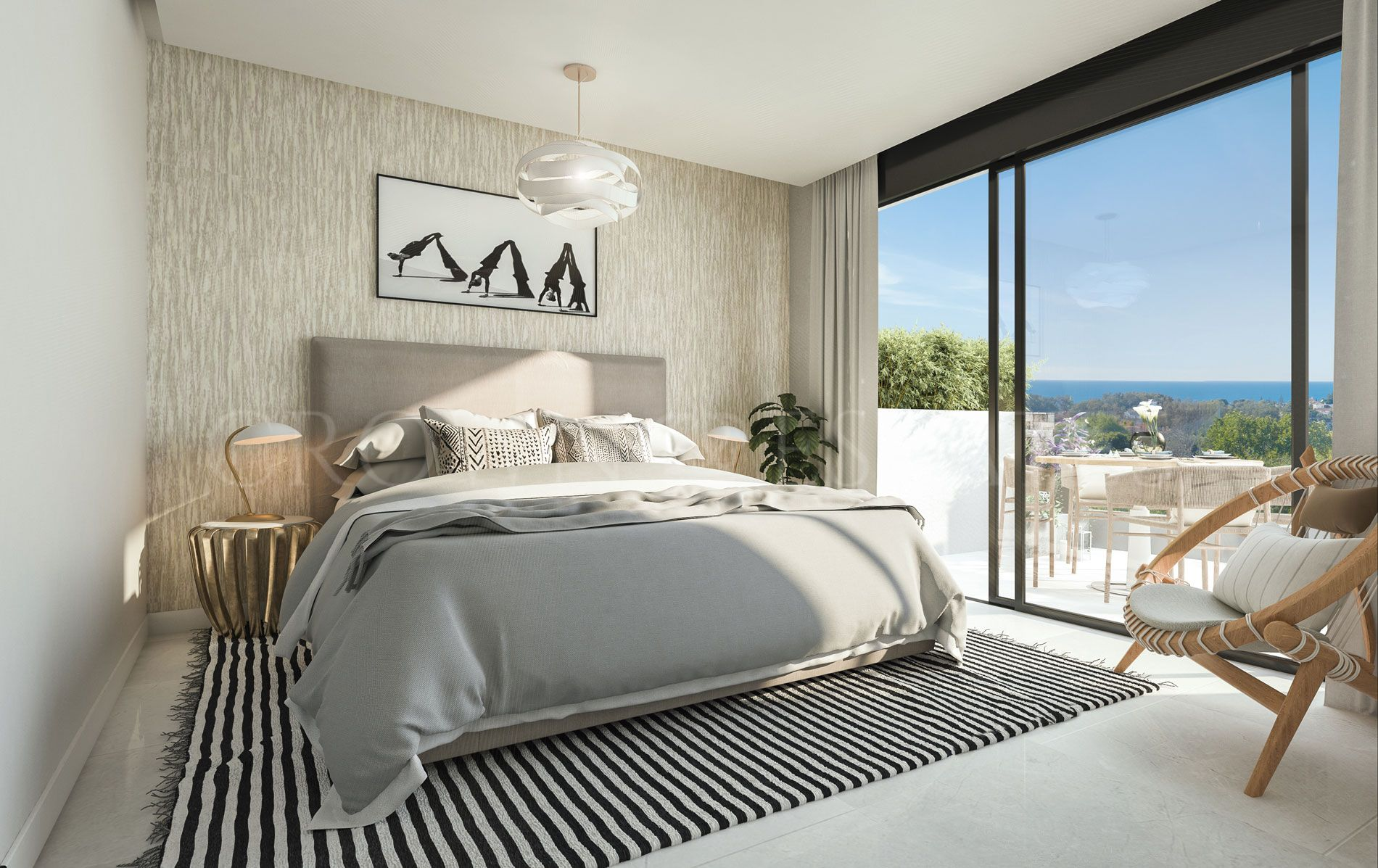 2, 3 and 4 bedrooms apartments on the front line of the Cabopino Golf Coursein Marbella. Designed to offer you all the luxury of a resort inside your ownhome.