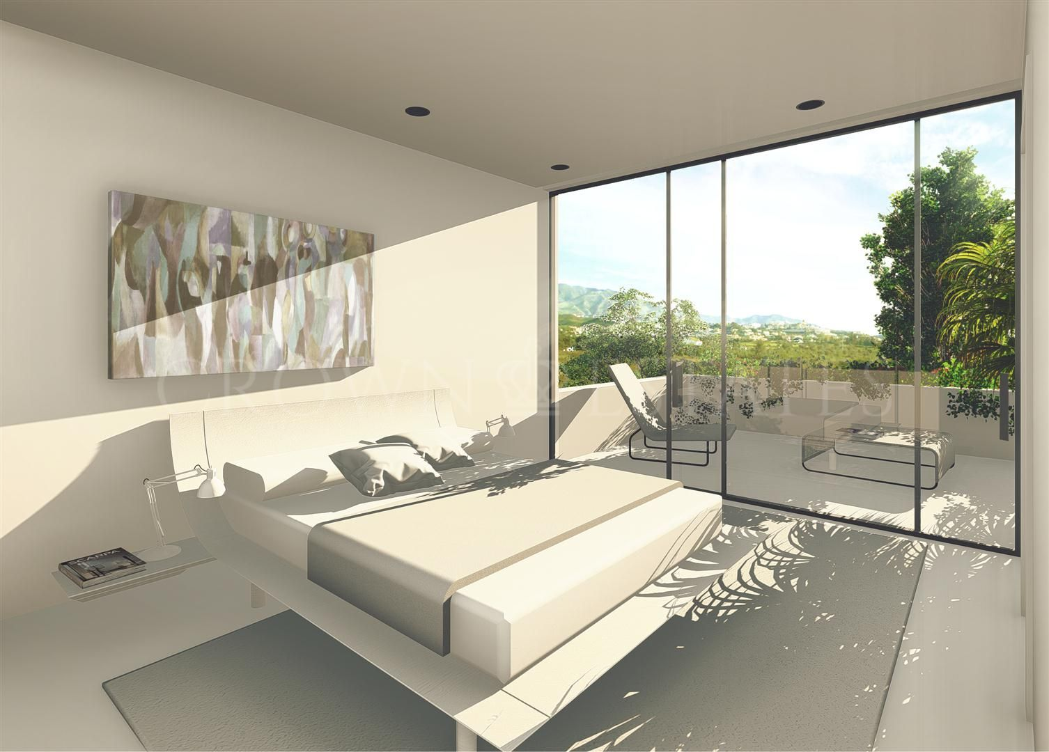 "ROYAL GOLF VILLAS, modern 4 bedrooms villas located in the urbanization of ""La Cala Hills"" in Mijas"