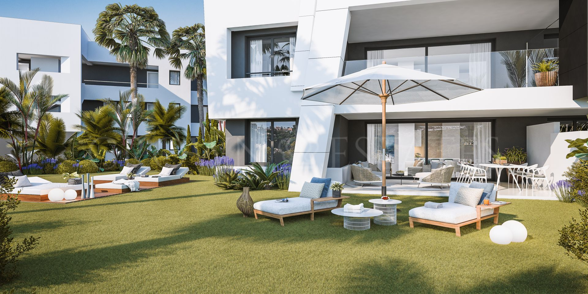 Vanian Gardens, design and sustanibility in these apartments in New Golden Mile, Estepona