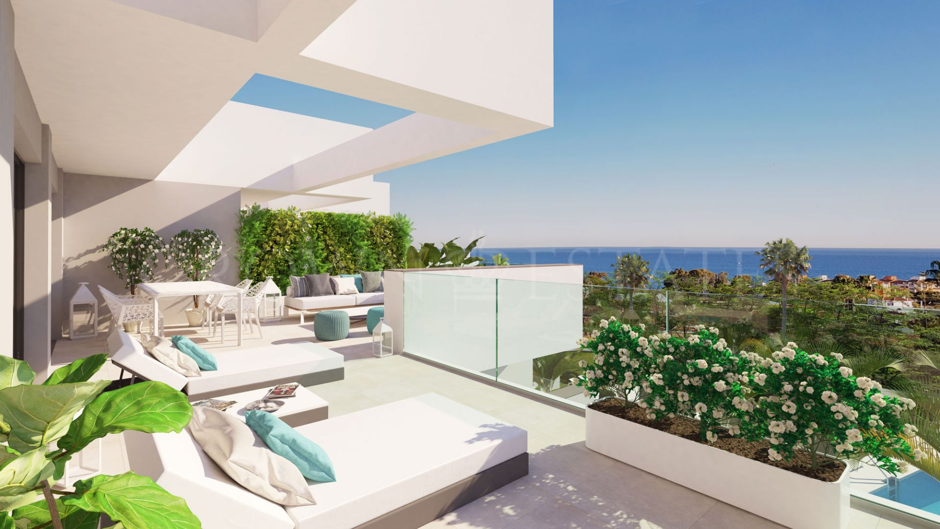 Pure South, contemporary apartments with sea views for a resort-style living in La Duquesa area
