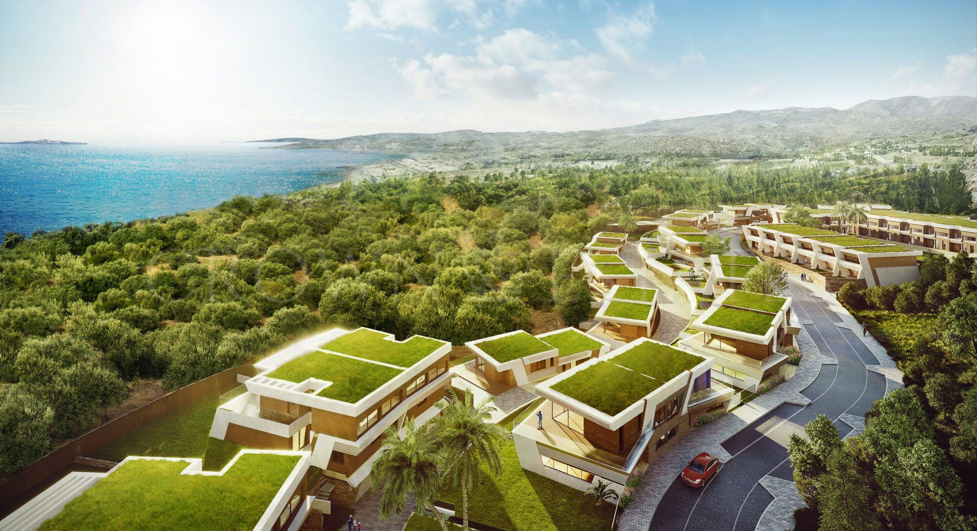 Eden by Kronos Homes, exclusive town houses with amazin sea views in Mijas Costa