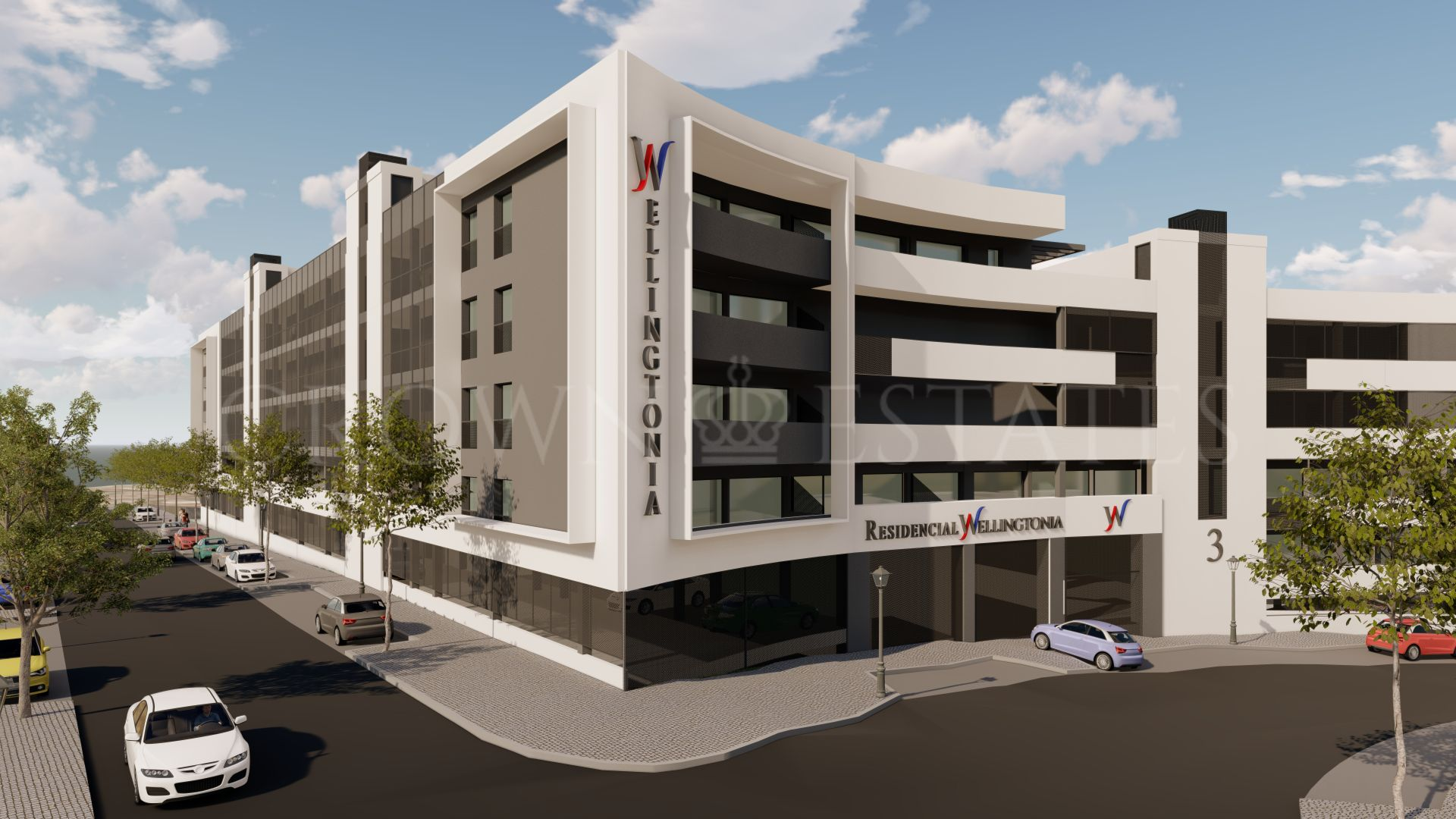 Wellingtonia, modern apartments in the heart of Estepona