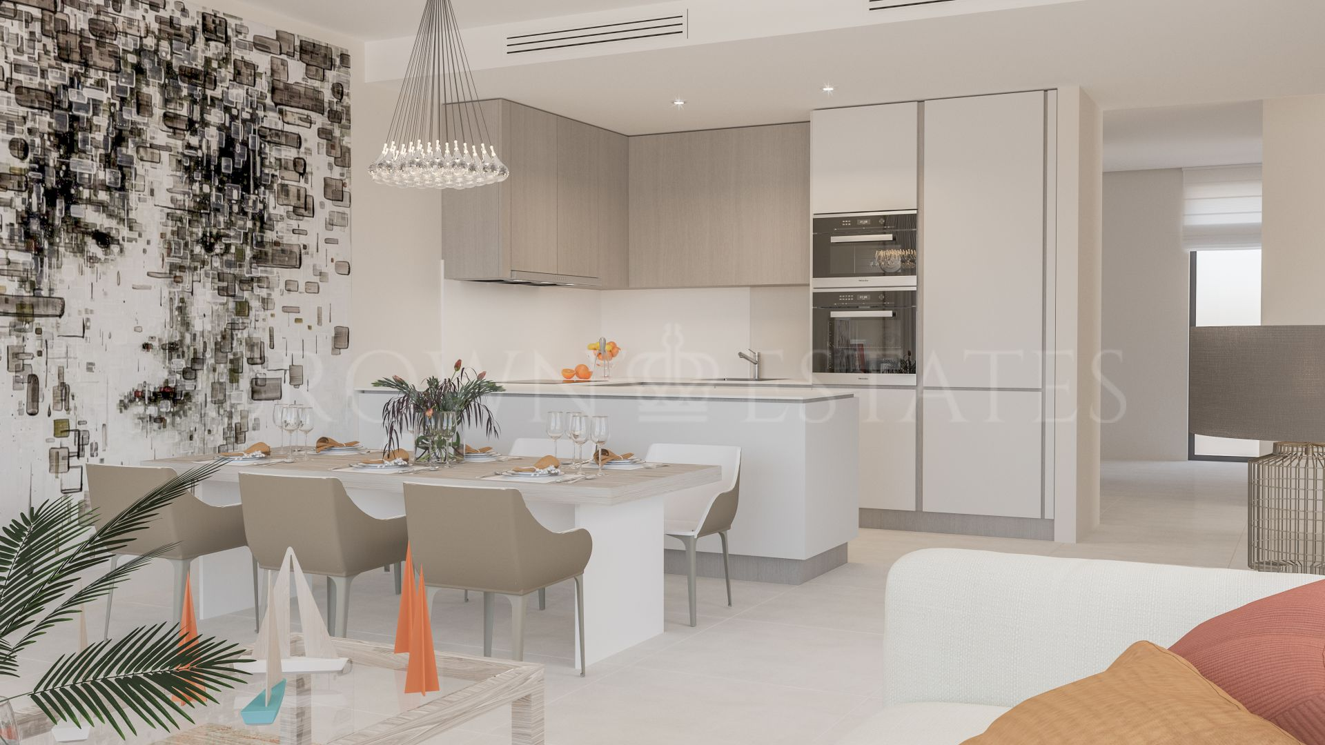 Cortijo del Golf, modern apartments and penthouses in the prestigious ara of El Campanario in Estepona