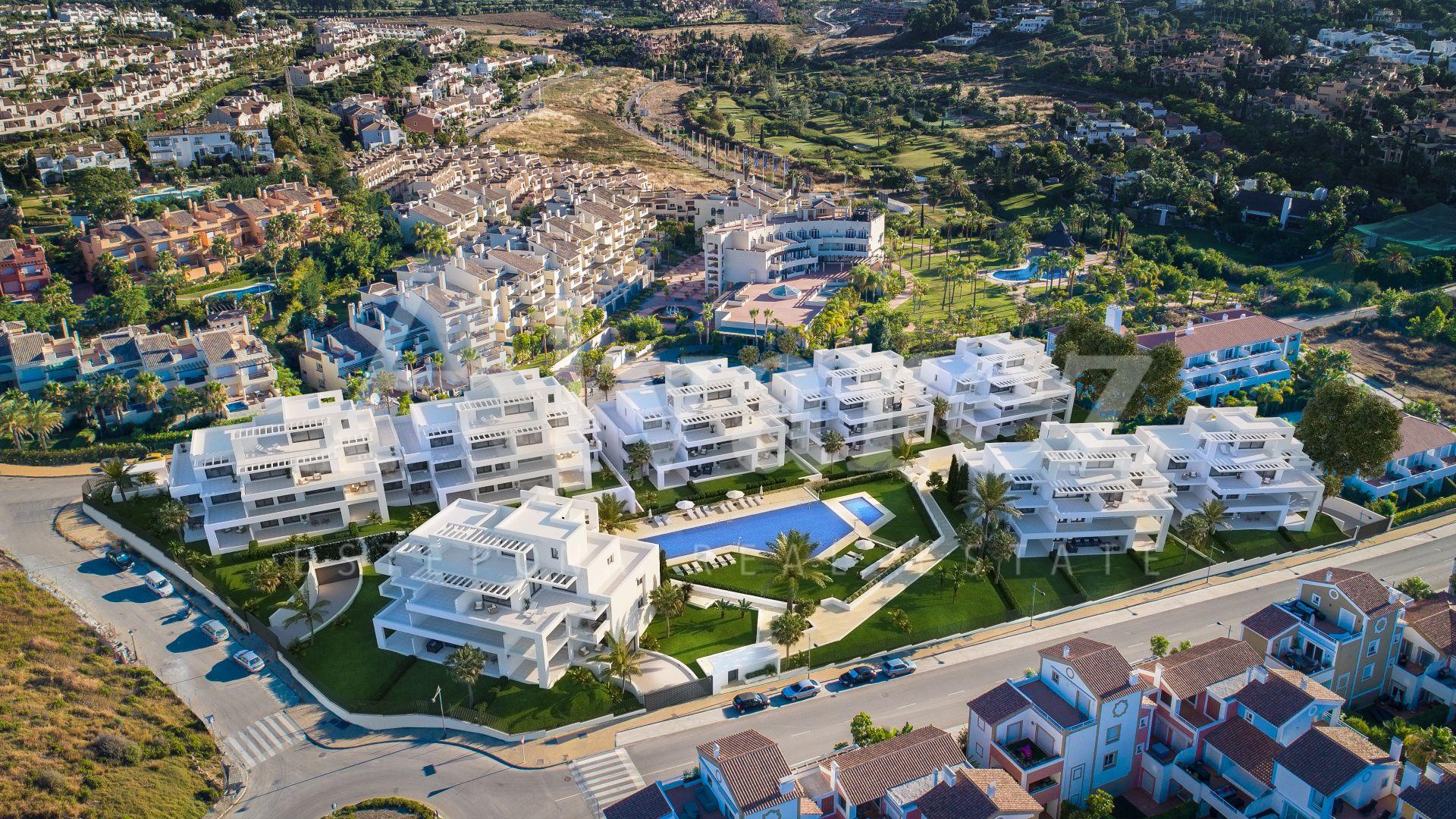 Development in El Campanario, Estepona