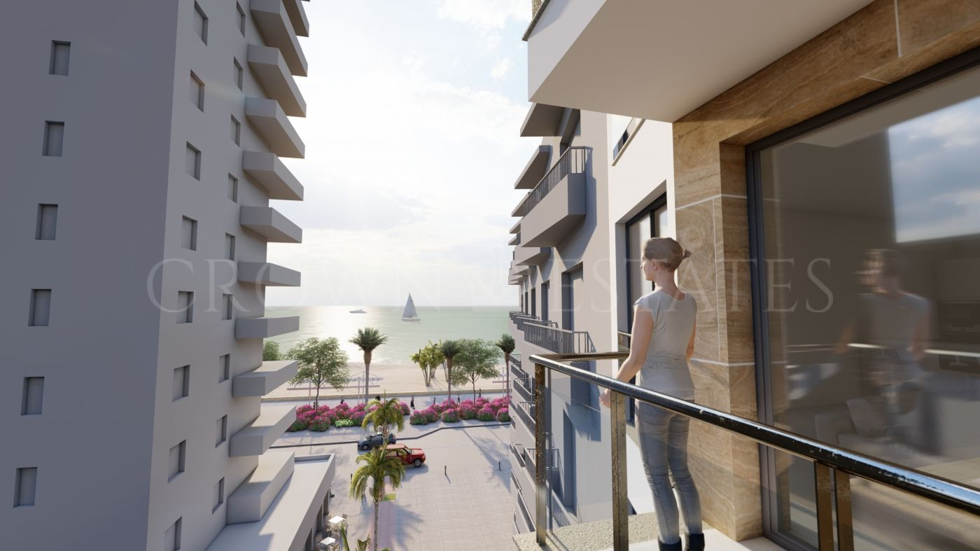 Sunset Plazamar Estepona, modern and exclusive building with only 12 apartments with 1, 2 and 3 bedrooms in the center of Estepona
