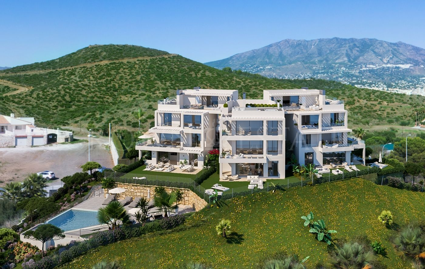 Monterrey Residencial is a luxury complex of 9 exclusive homes located in a magnificent enclave, in Mijas Costa.