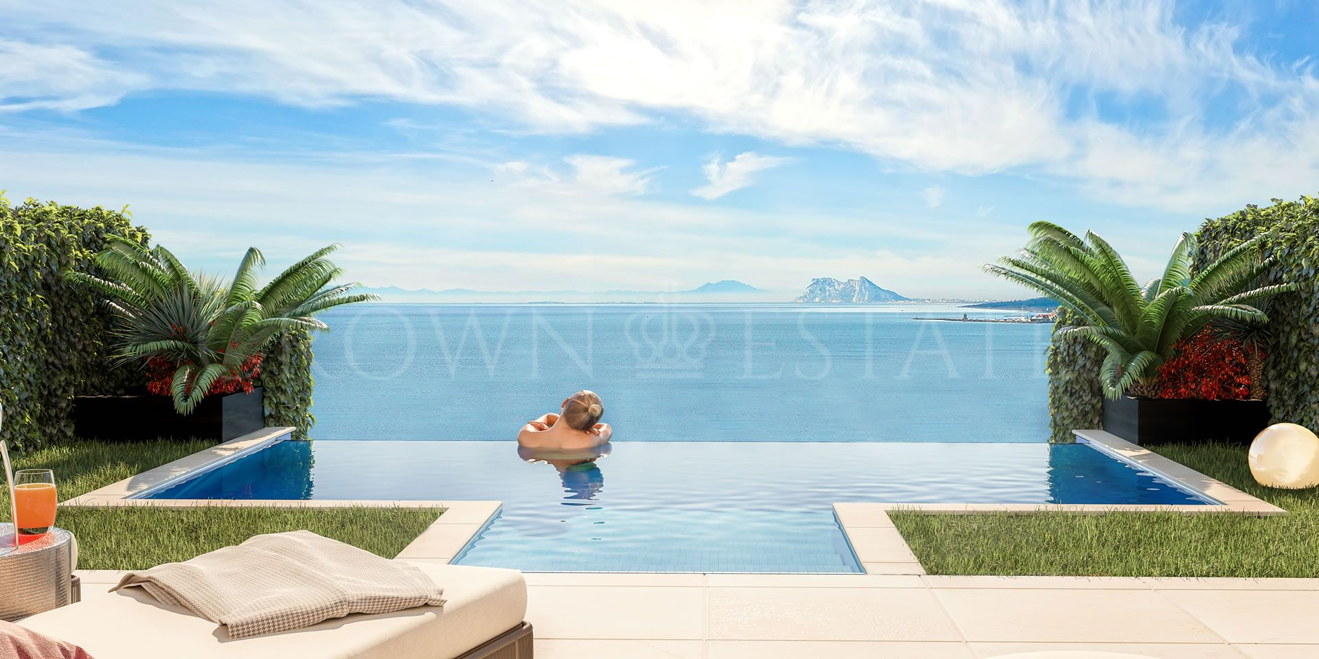 Golden View I, stunning townhouses with seaviews between Marbella and Sotogrande