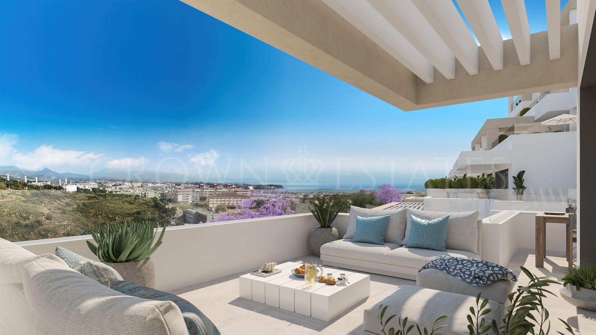 South Bay Las Mesas III, contemporary apartments overlooking the Mediterranean in Estepona