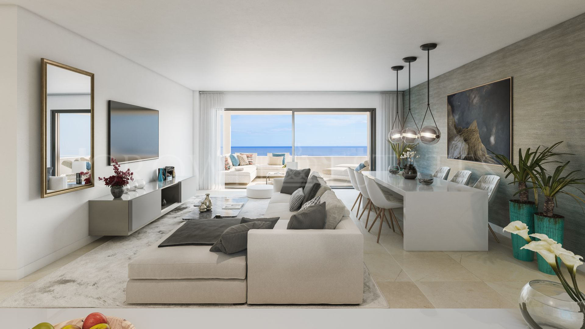 South Bay Las Mesas II, avant-garde homes with priveleged sea views in Estepona town