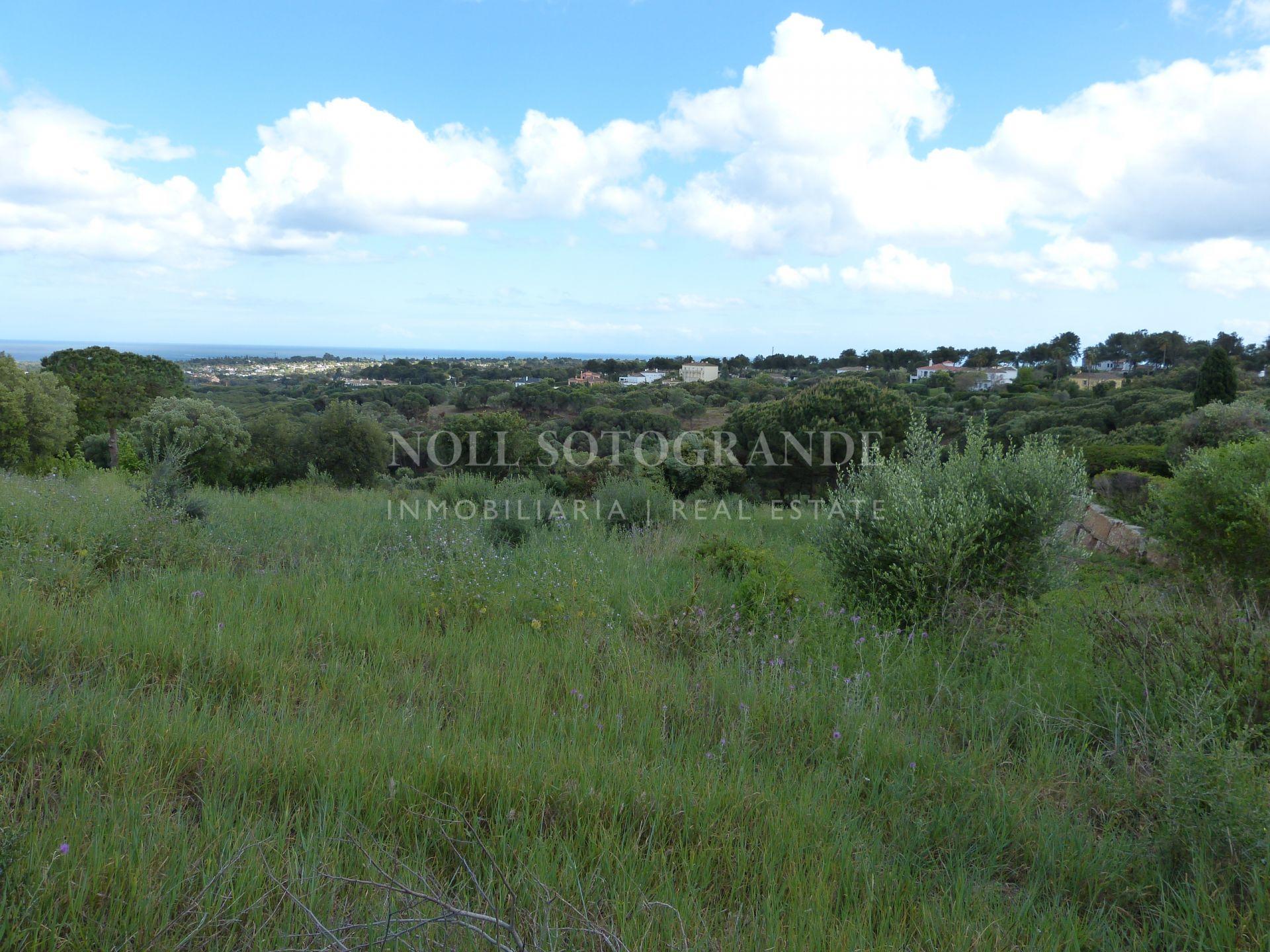 Parcela en venta con vistas al mar - Sotogrande La Reserva
