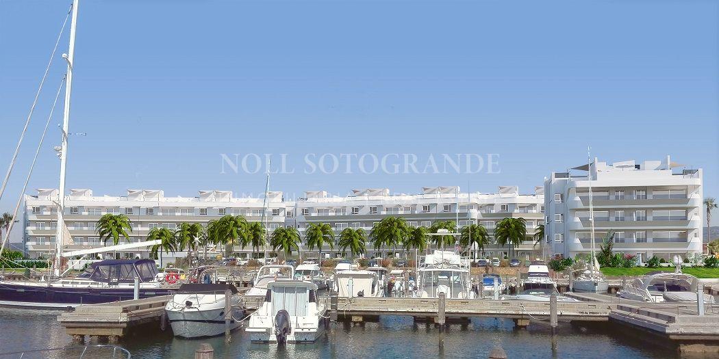 Sobre plan Áticos y apartamentos en la Marina de Sotogrande