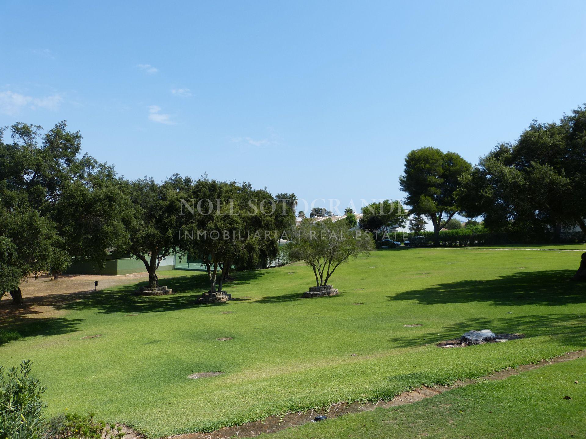Sotogrande, La Loma townhouse for sale with private garden.