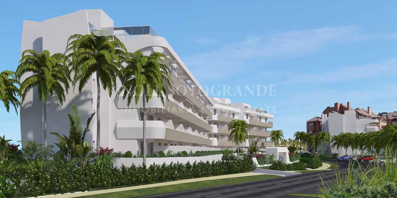 OFF plan second floor contemporary apartment Marina Sotogrande