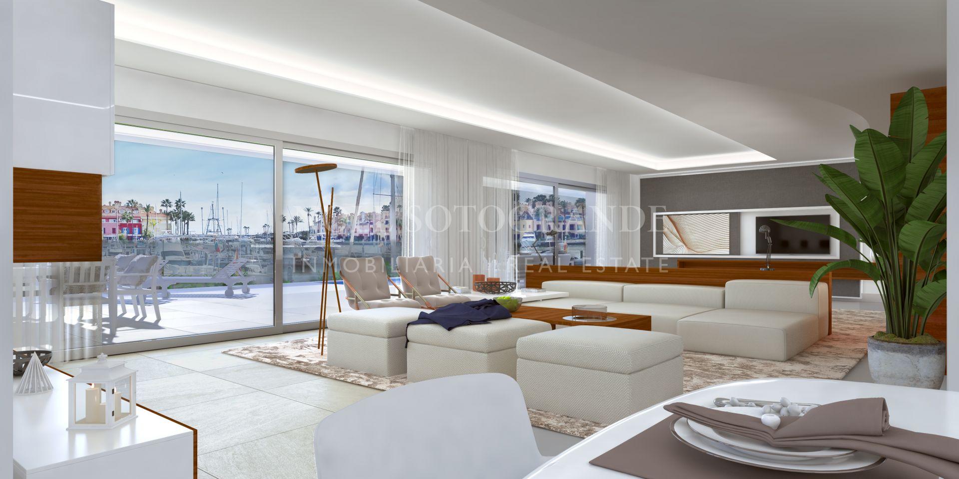 Off-plan first floor contemporary apartment Marina Sotogrande
