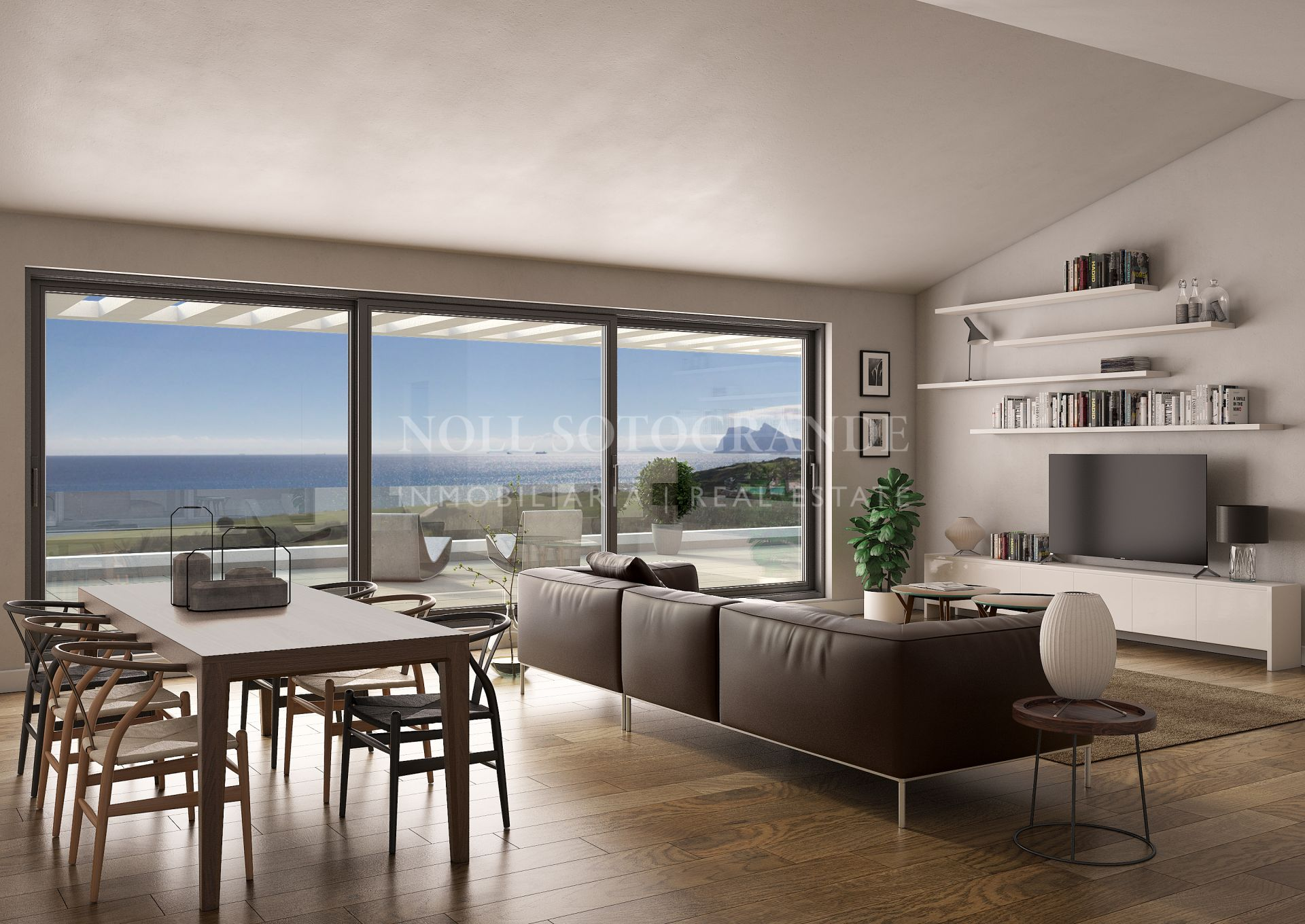 Alcaidesa The Links with spectacular views for sale
