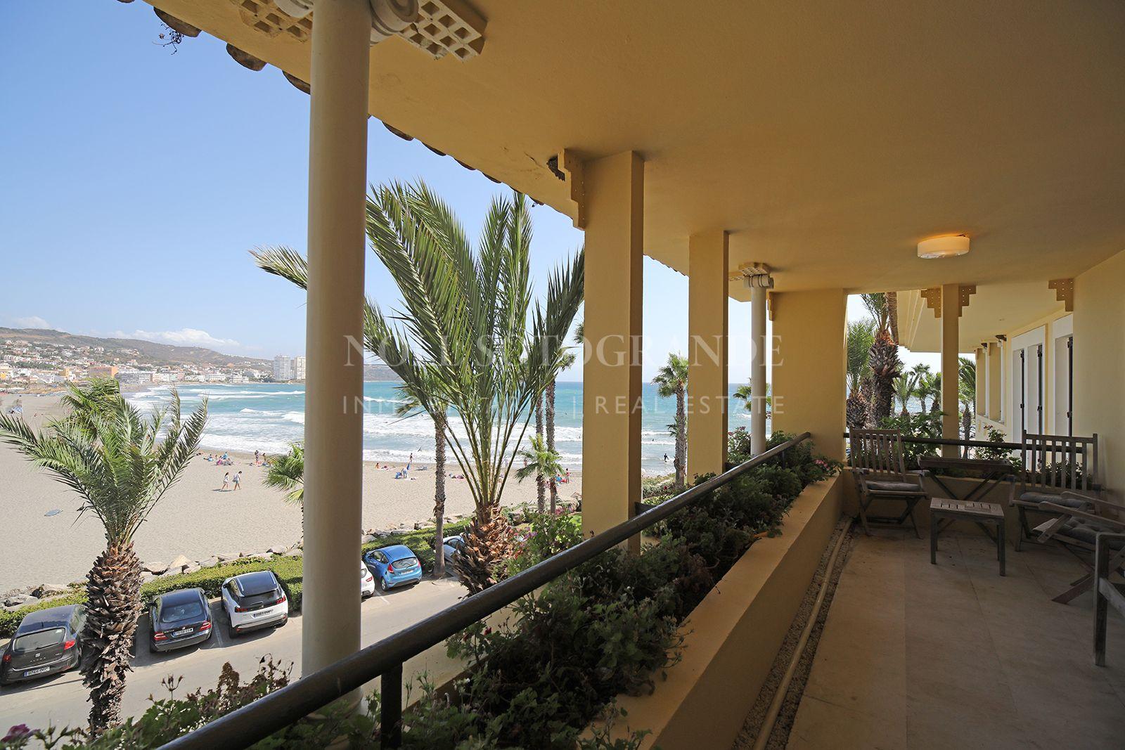 Front line beach apartment Puerto Sotogrande
