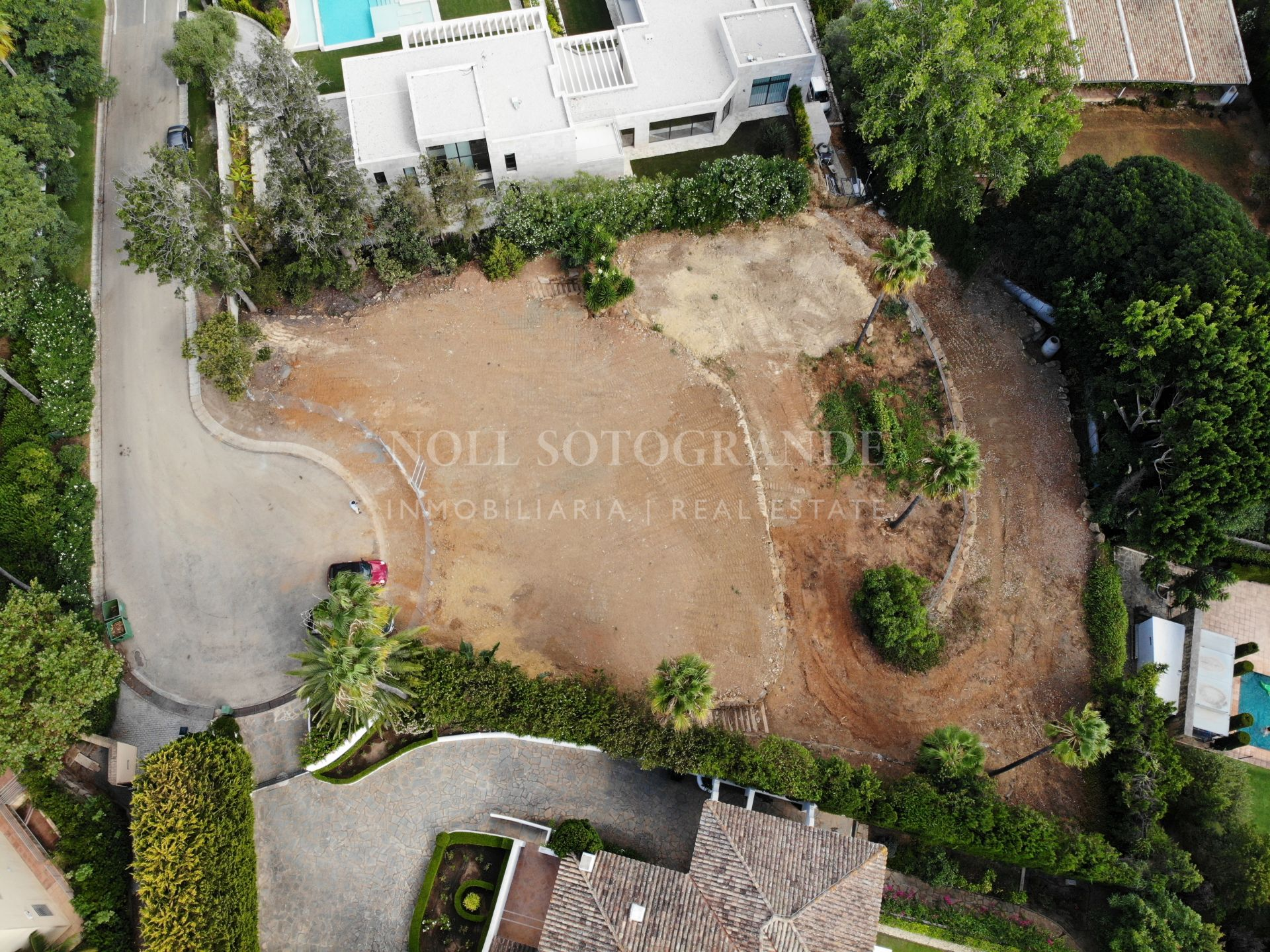 Plot for sale in Sotogrande Costa, Kings and Queens