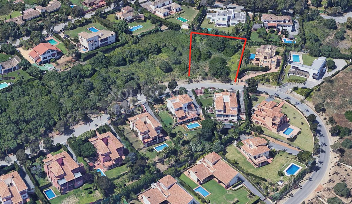 Building plot for sale, Sotogrande Alto