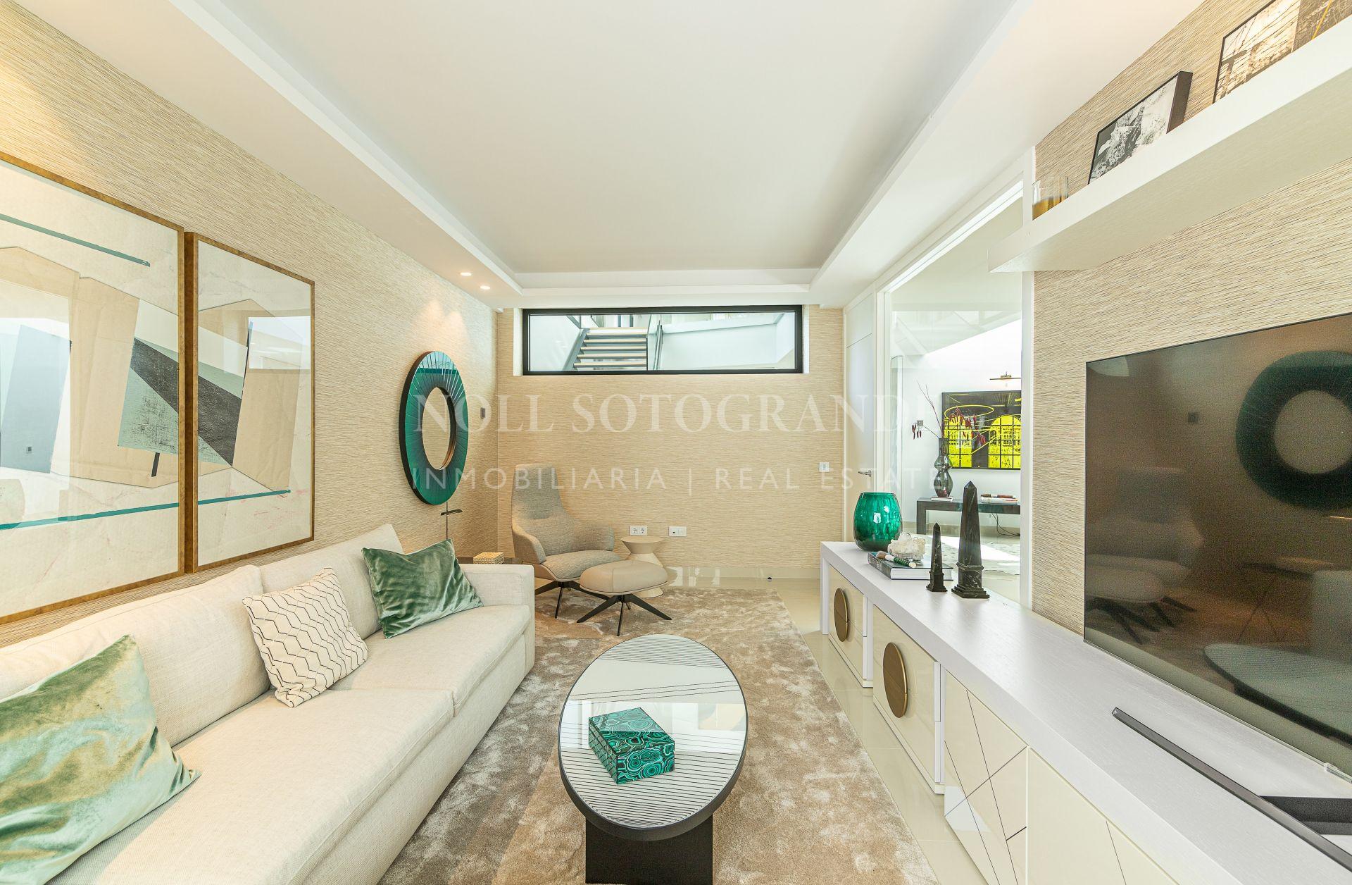 Contemporary Villa with sea views Sotogrande Alto