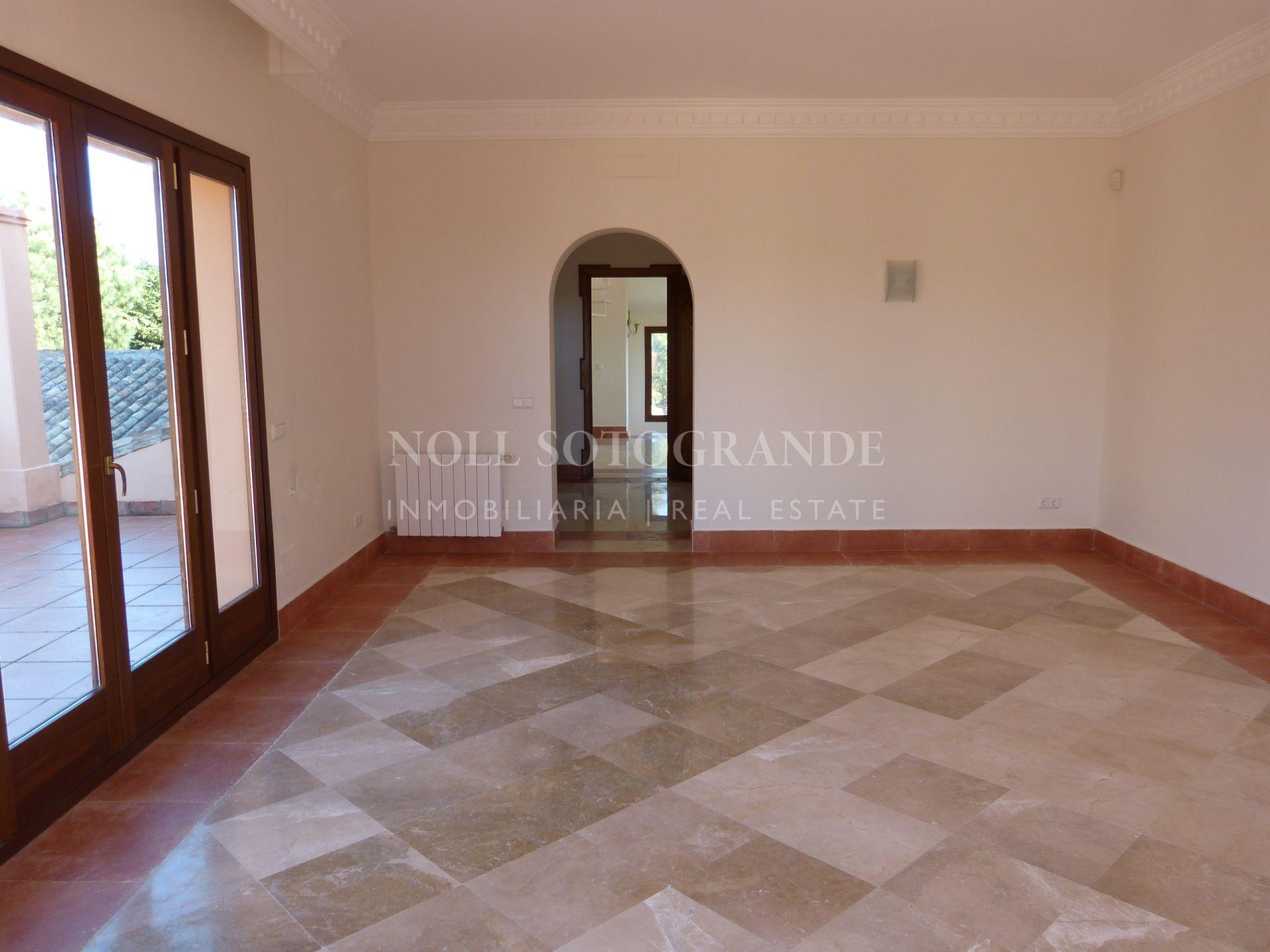 Villa close to the Sotogrande International School for rent