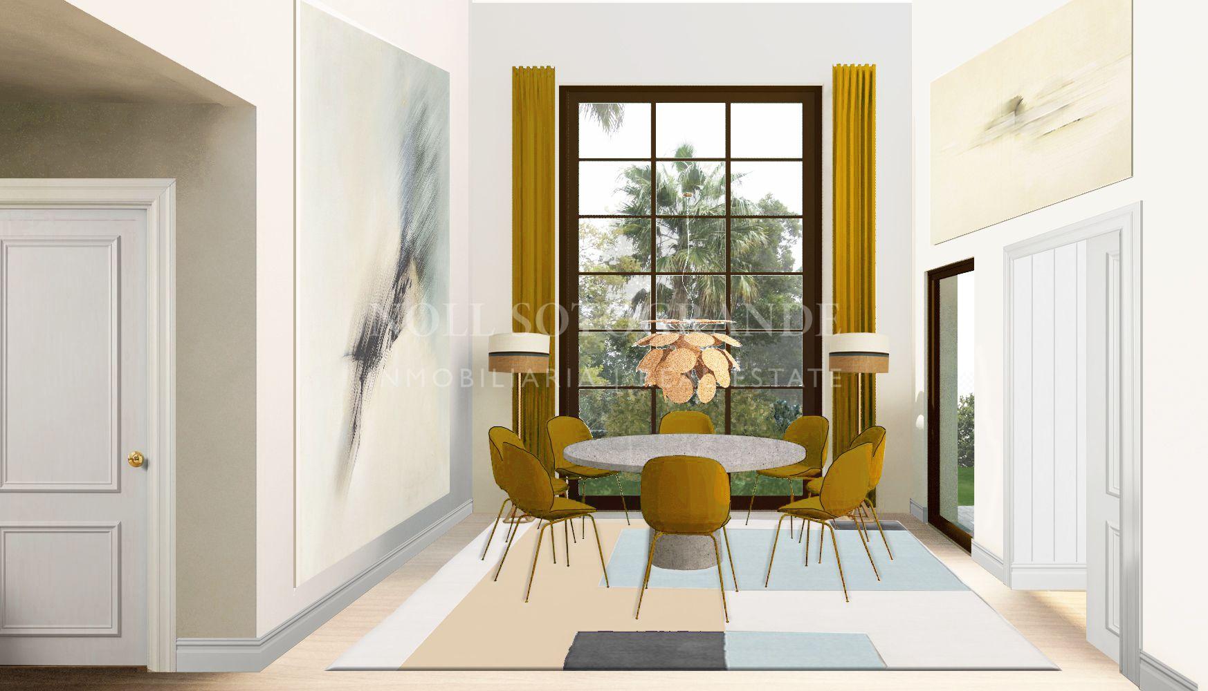 Magnificent contemporary style off-plan villa for sale in Sotogrande.