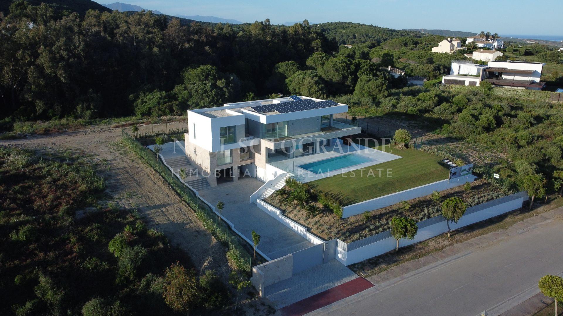 Villa Green Island, a contemporary villa for sale in La Reserva de Sotogrande