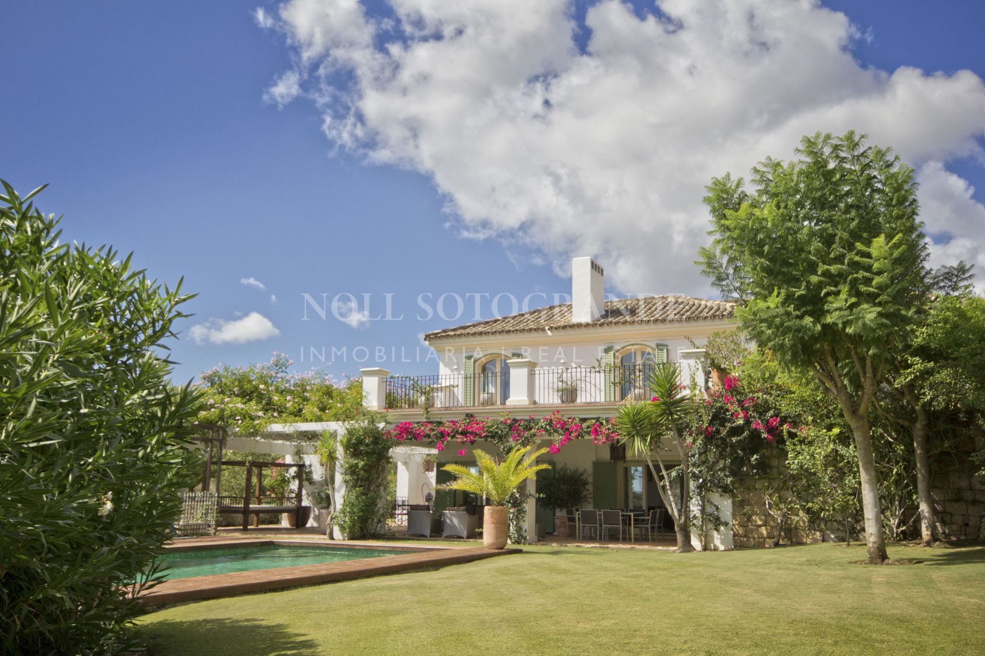 Beautiful villa Sotogrande Alto