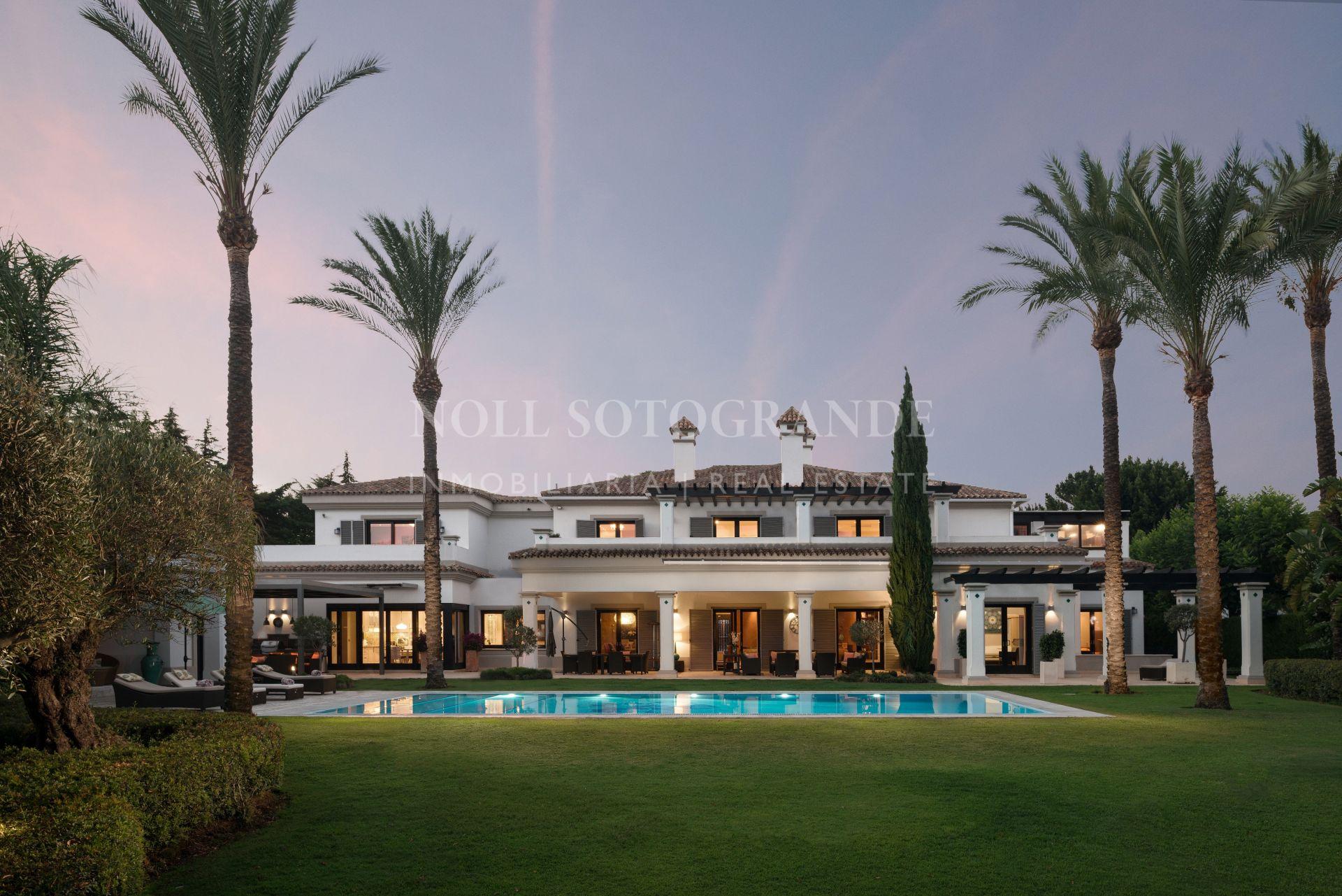 Impressive Villa in Sotogrande Costa for sale