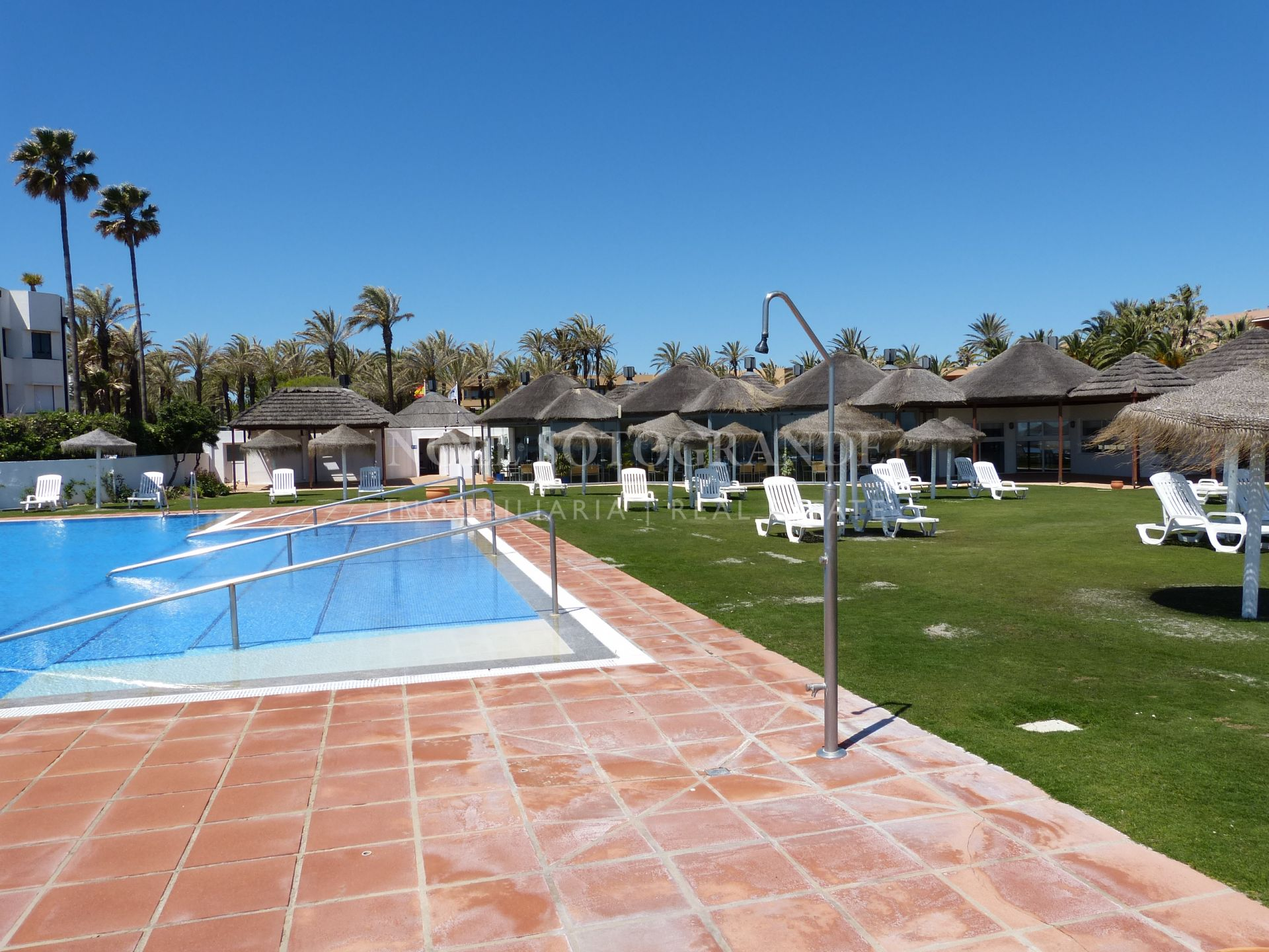 Large ground floor apartment front line sea Sotogrande Costa