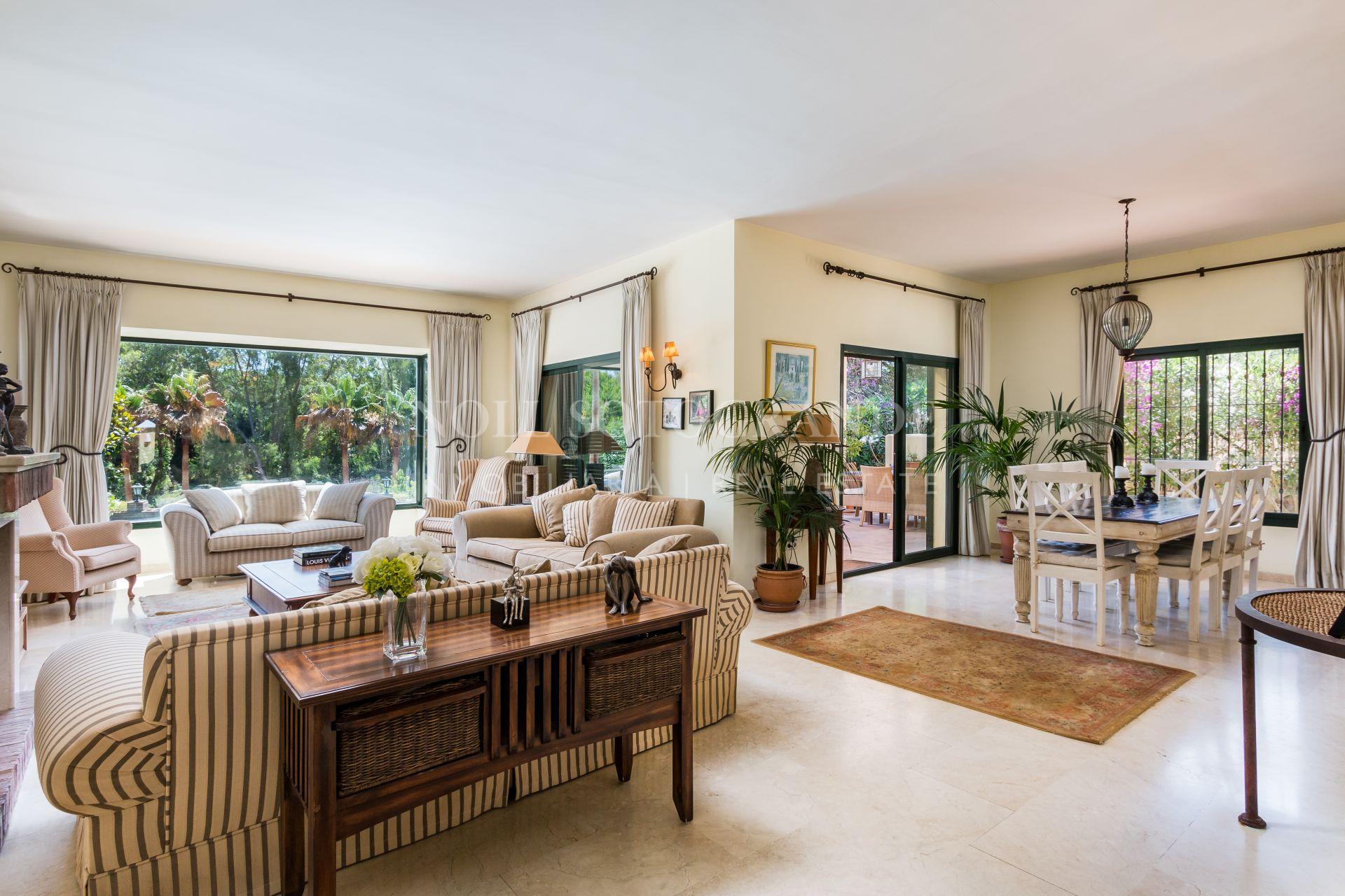 Villa con encanto en venta en Sotogrande Alto