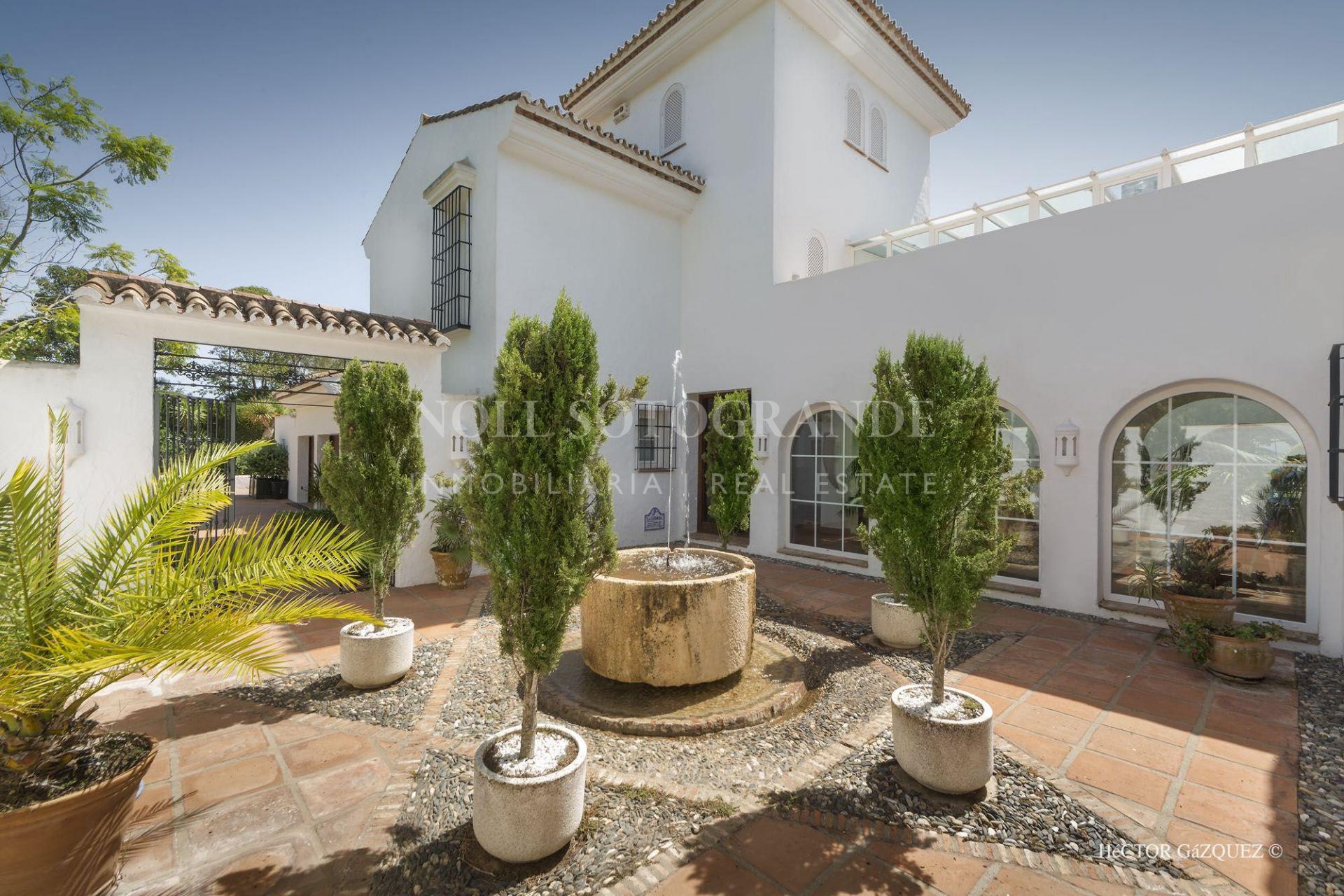 Villa con mucho potencial Sotogrande Alto