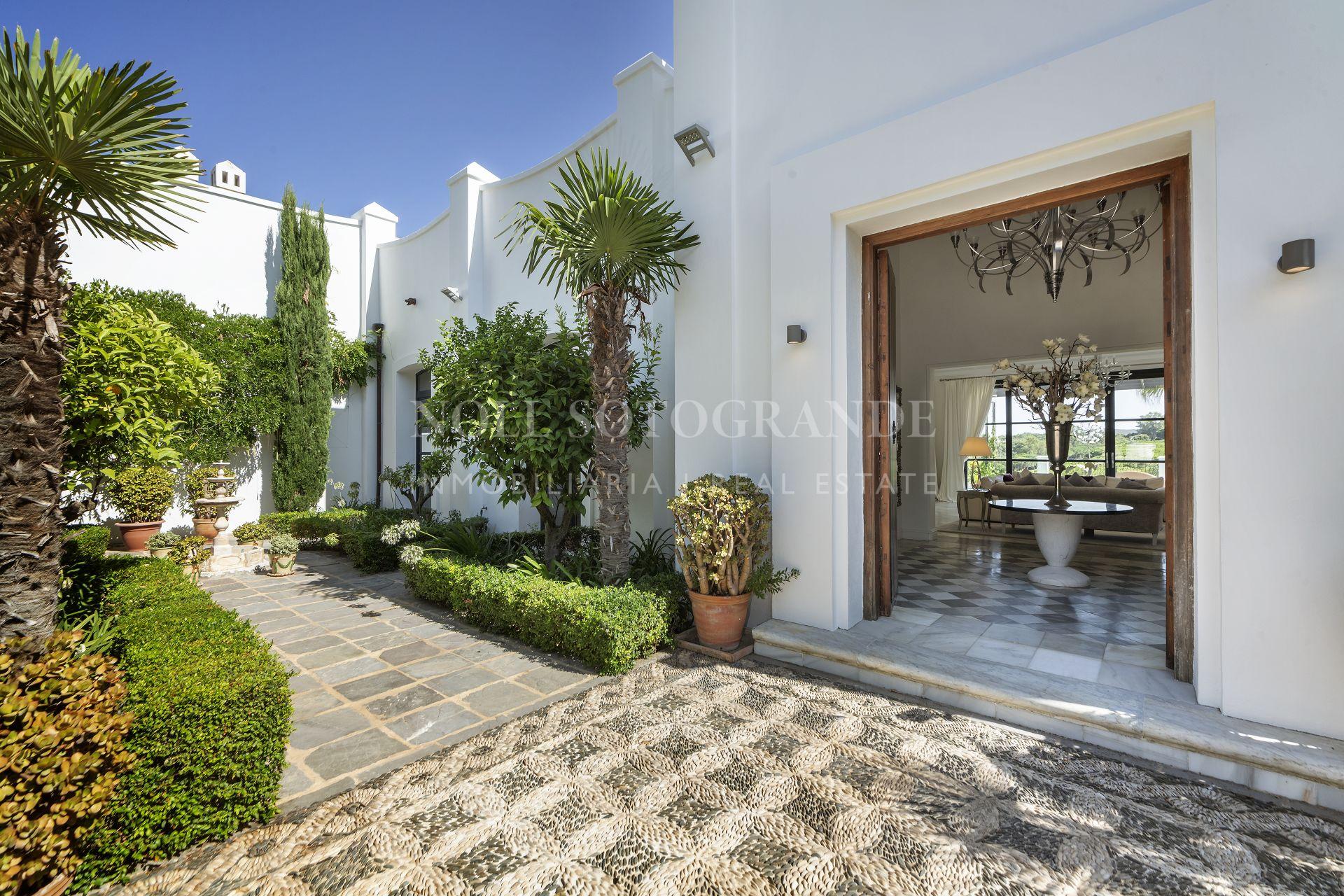 Sotogrande, south facing Luxury Villa