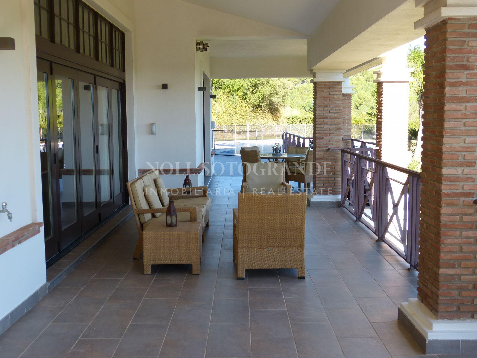 La Reserva Sotogrande Villa with spectacular sea and golf views.