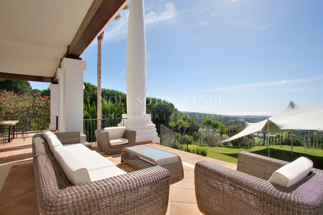 Villa with spectacular sea views La Reserva de Sotogrande