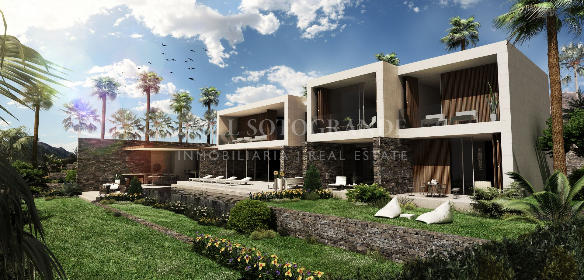 Luxury villa off-plan in La Reserva de Sotogrande