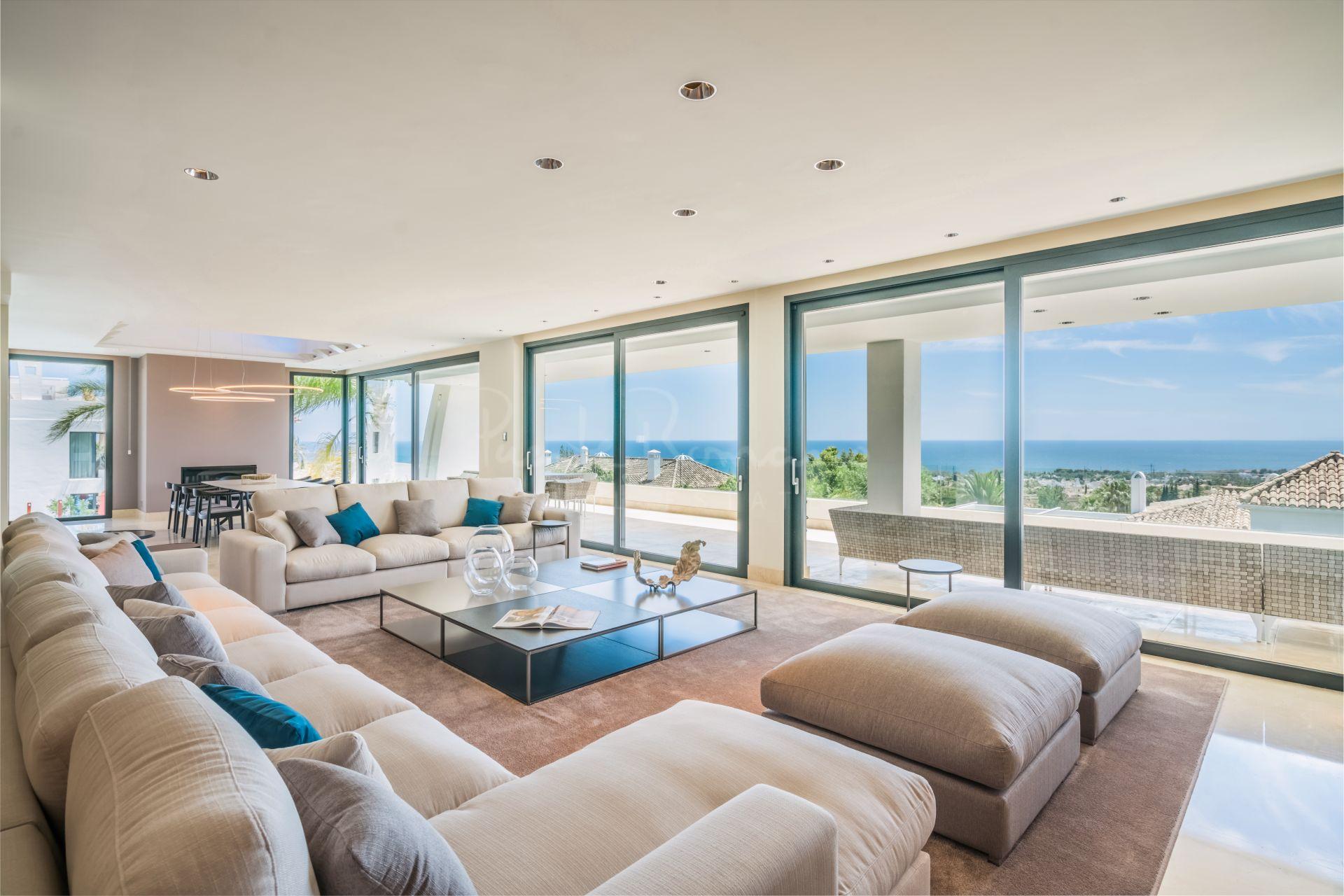 Penthouse in Reserva de Sierra Blanca, Marbella