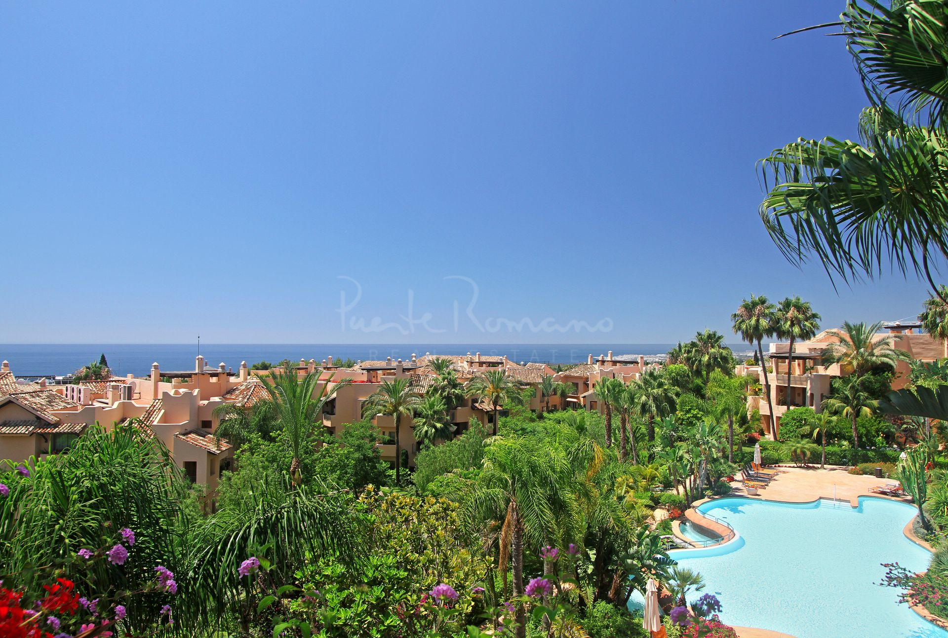 Penthouse in Mansion Club, Marbella