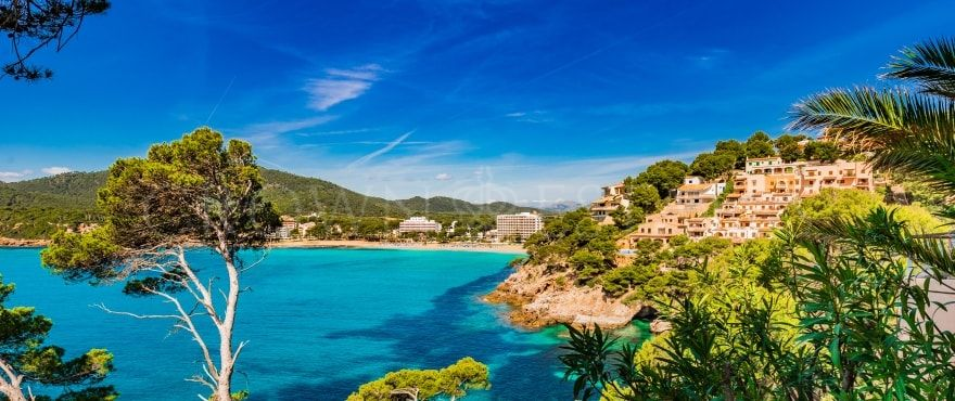 Canyamel Pins, contemporary apartments by the beach in Capdepera, Mallorca