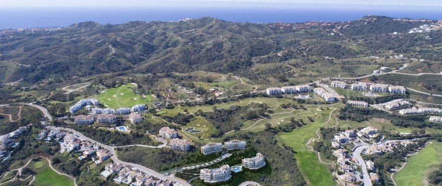 Grand View, stunning apartments and penthouses for golf lovers in La Cala Resort in Mijas