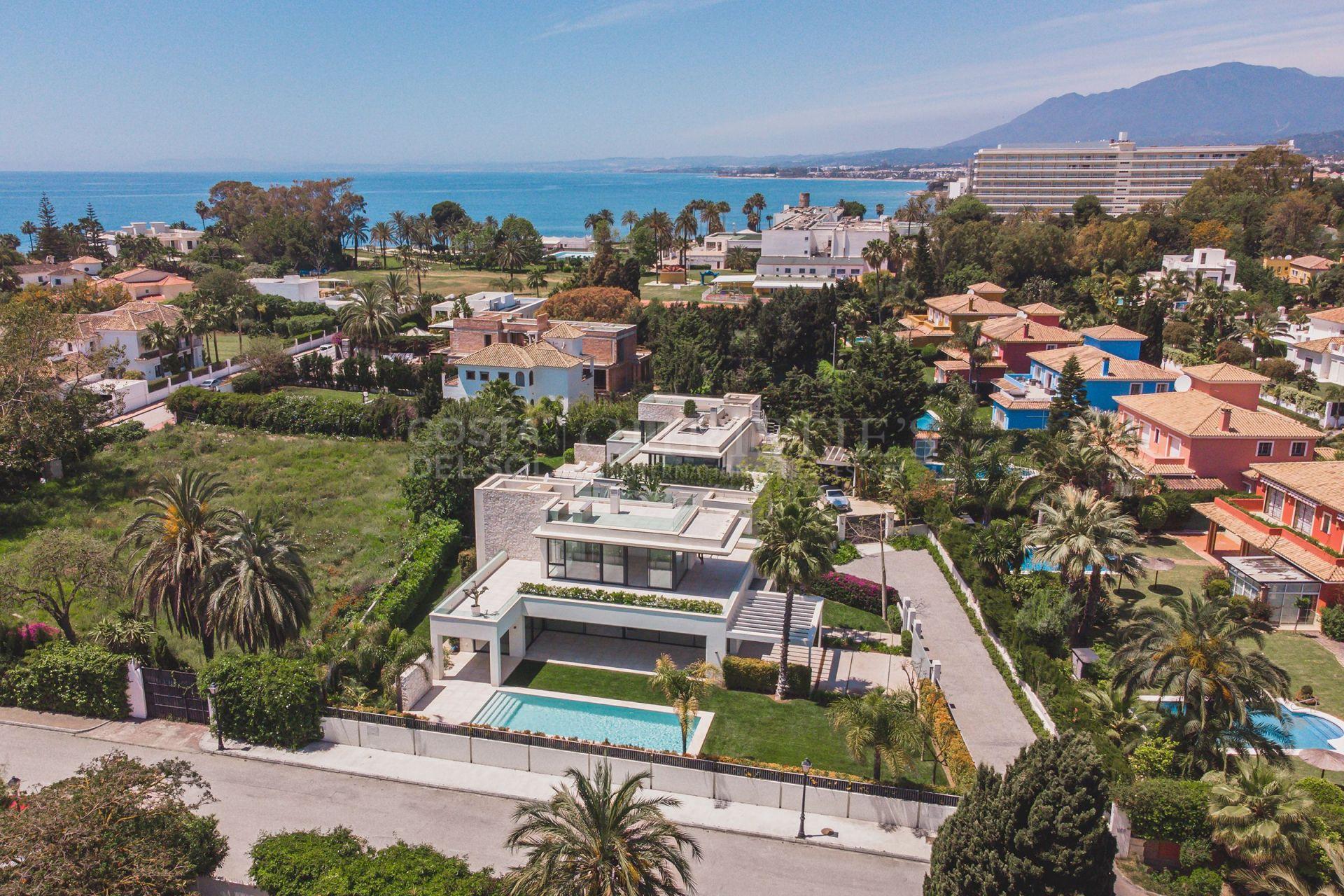 Avant-garde style villa in Casasola, Estepona | Christie's International Real Estate