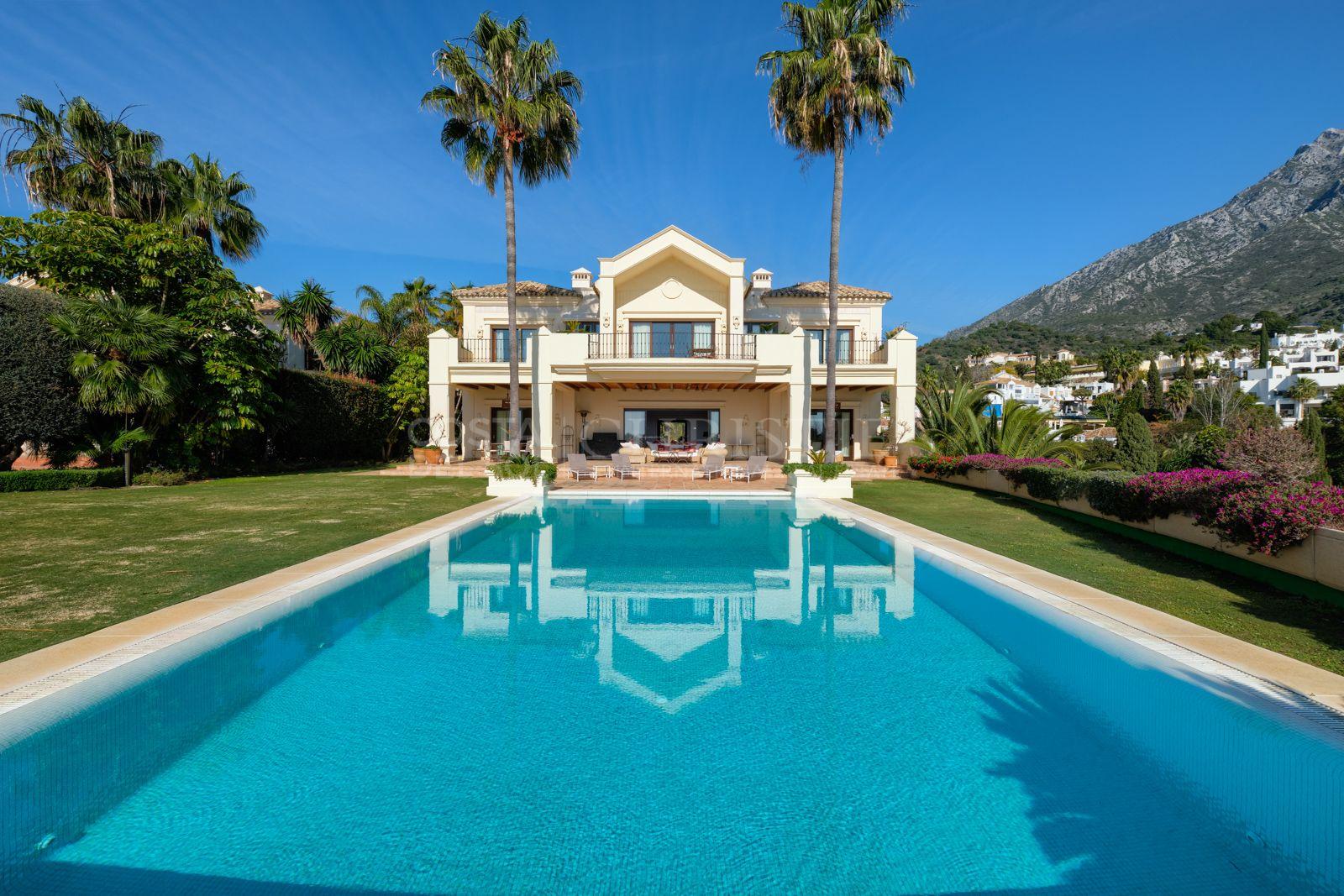 Spectacular Villa in Marbella Hill Club, Marbella Golden Mile | Christie's International Real Estate